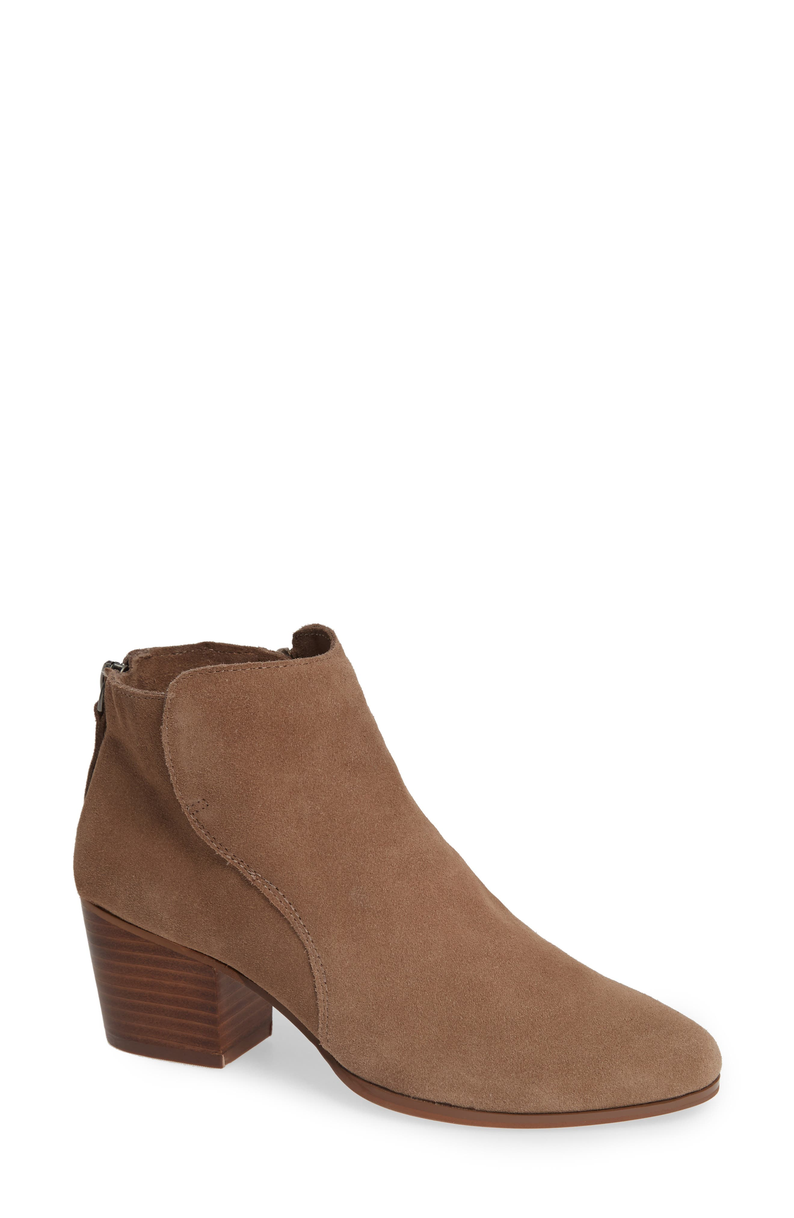River Bootie,                             Main thumbnail 1, color,                             NEW TAUPE SUEDE