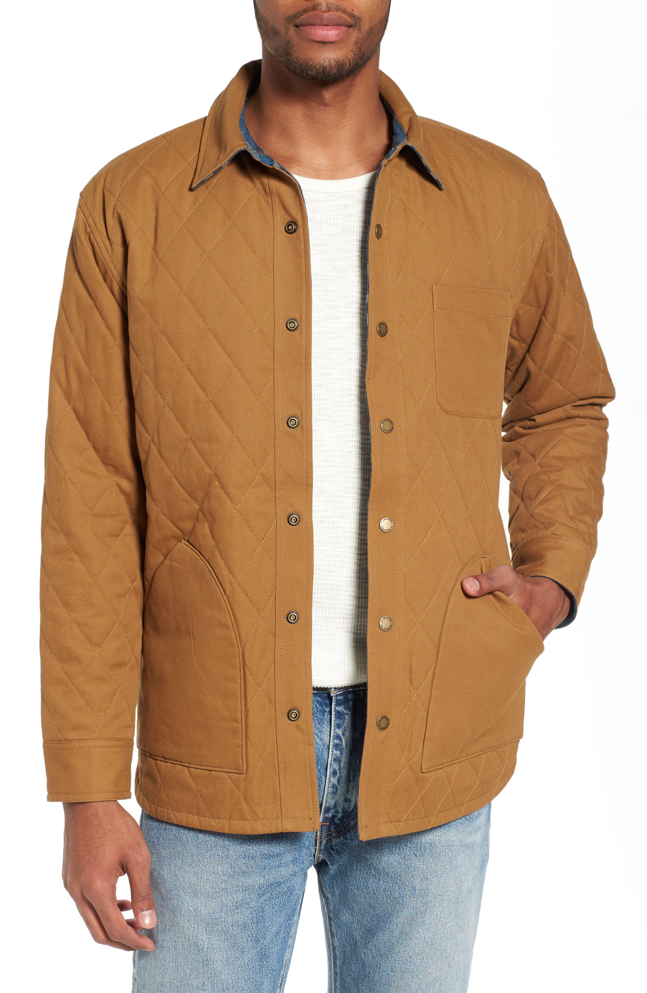 Reversible Canvas Jacket,                         Main,                         color, 250