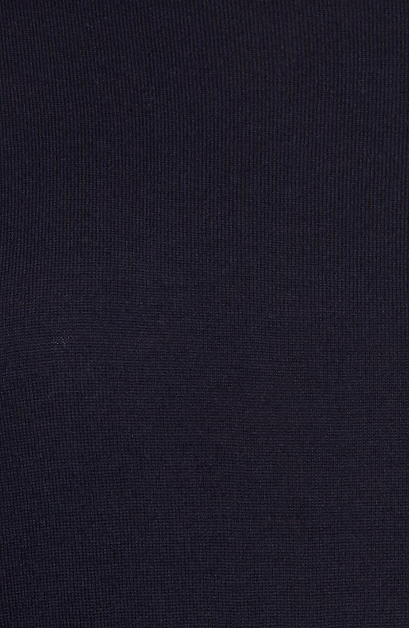 Split Cuff Merino Wool Turtleneck Sweater,                             Alternate thumbnail 14, color,
