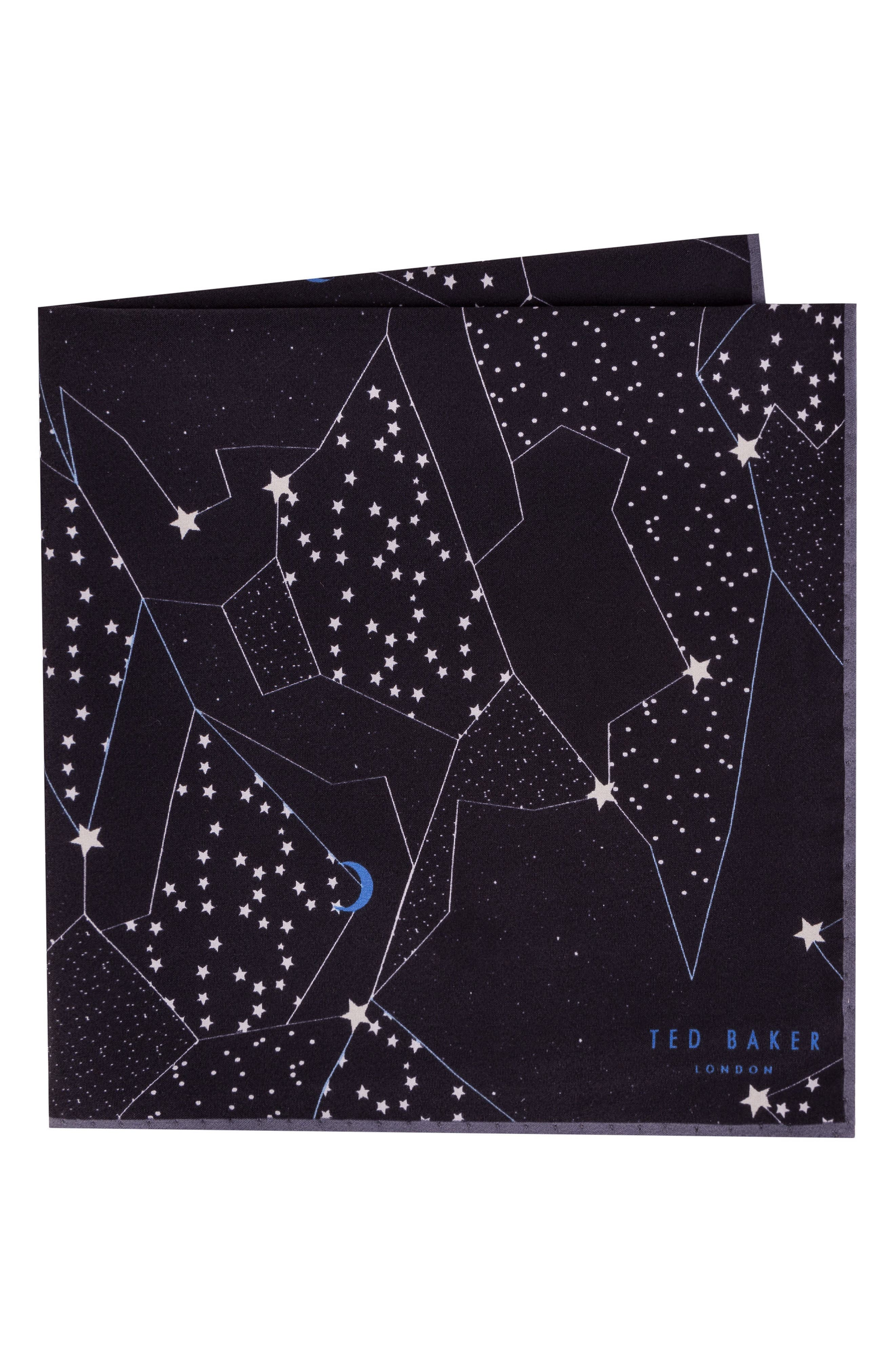 Orion Silk Pocket Square,                             Main thumbnail 1, color,                             001