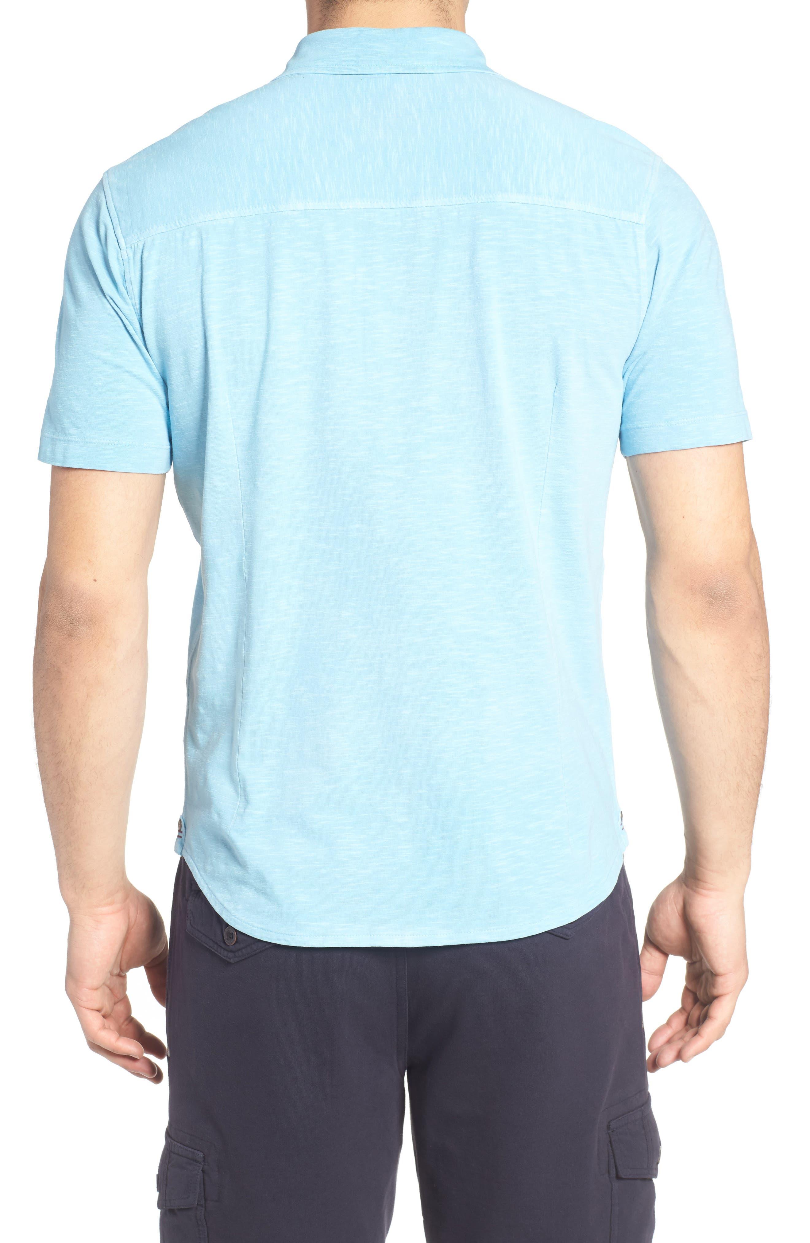 McAdams Slub Jersey Sport Shirt,                             Alternate thumbnail 6, color,