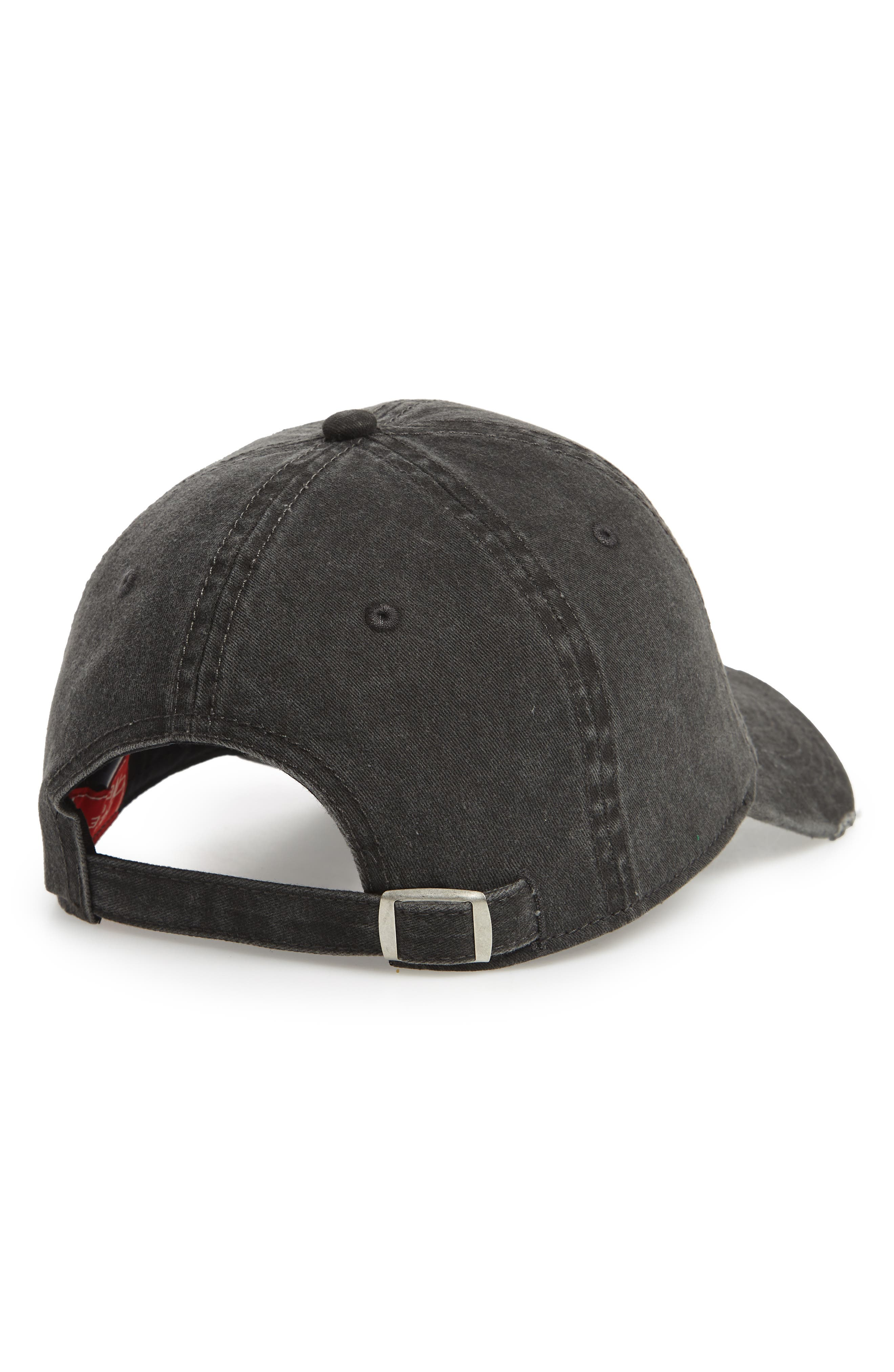 Iconic - Rock 'N' Roll Baseball Cap,                             Alternate thumbnail 2, color,                             001