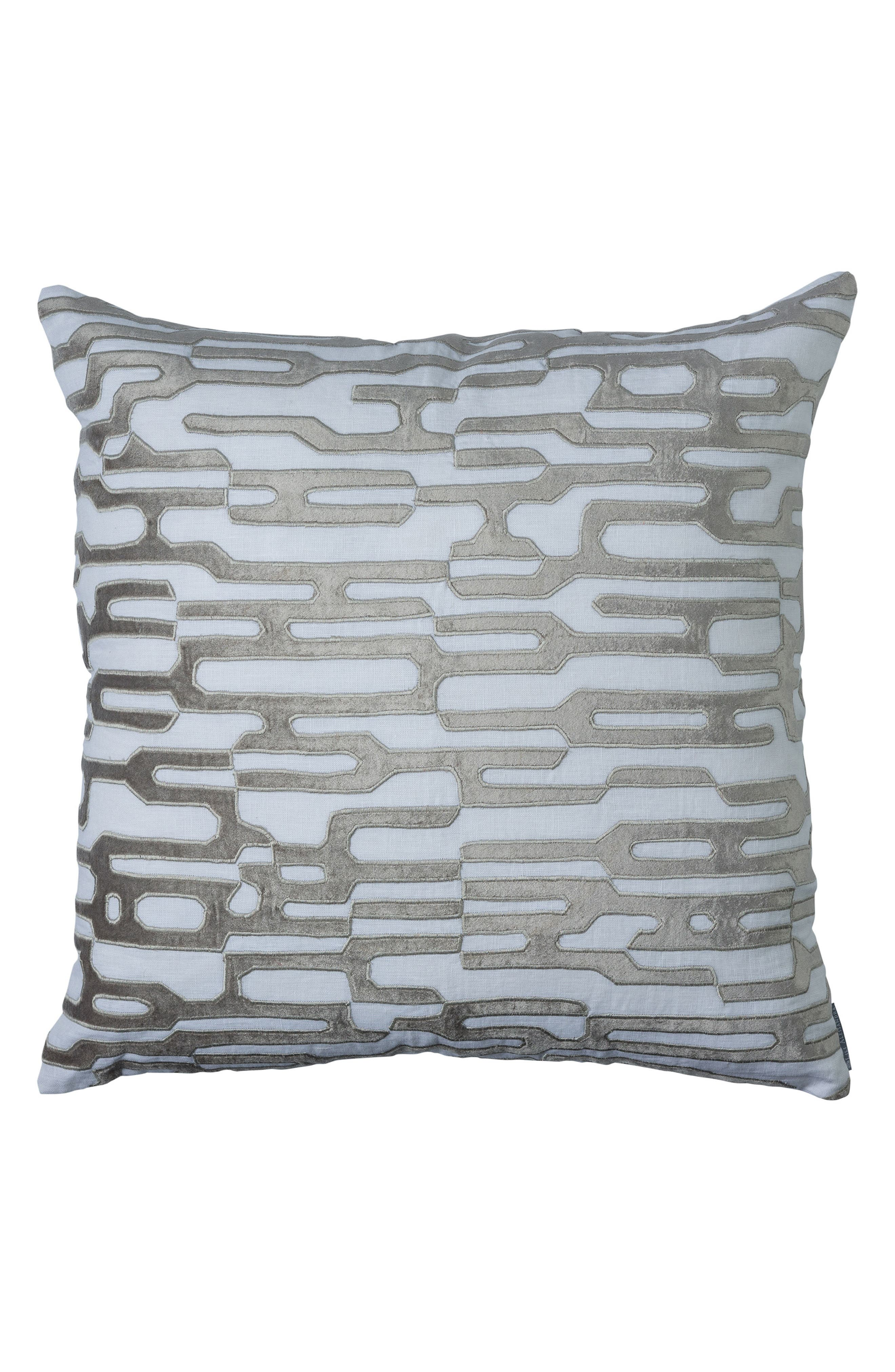 LILI ALESSANDRA,                             Christian Square Accent Pillow,                             Main thumbnail 1, color,                             040