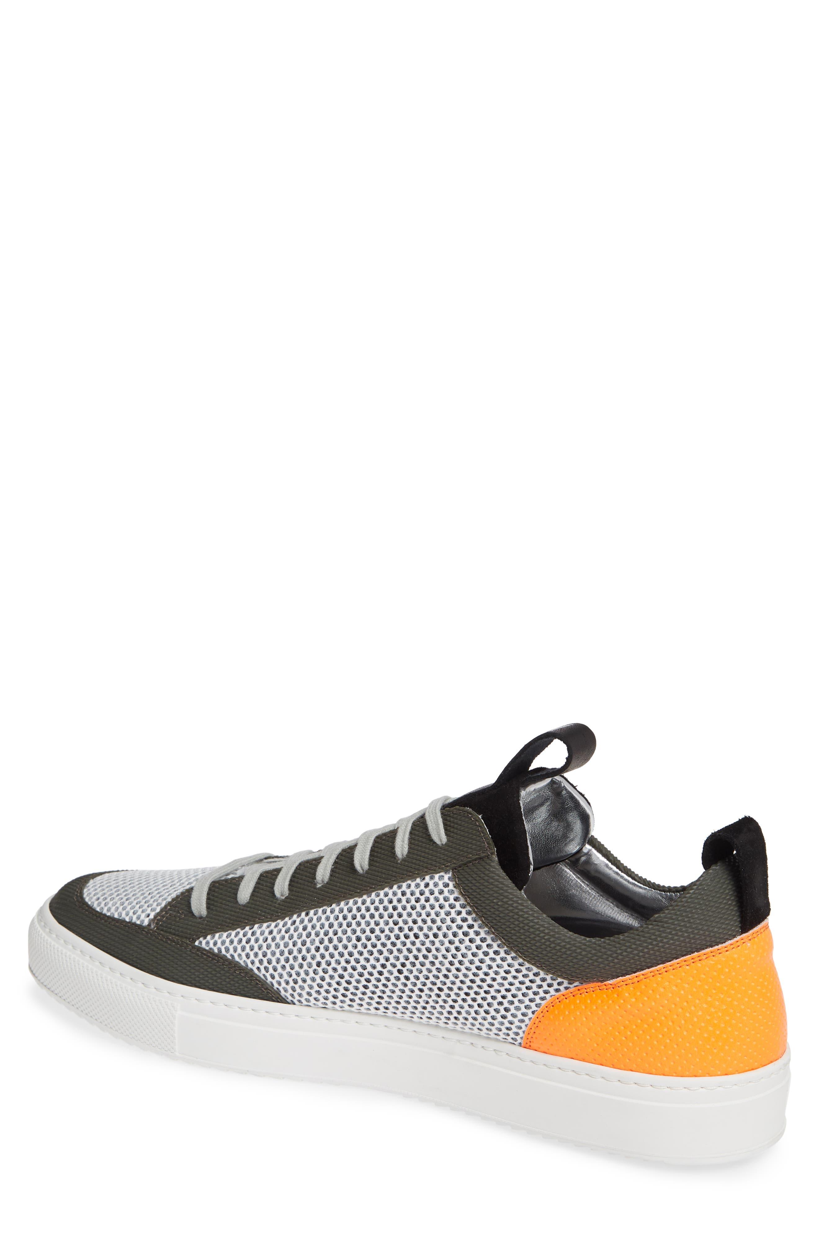 A8Soho Textured Sneaker,                             Alternate thumbnail 2, color,                             WHITE/ GREY