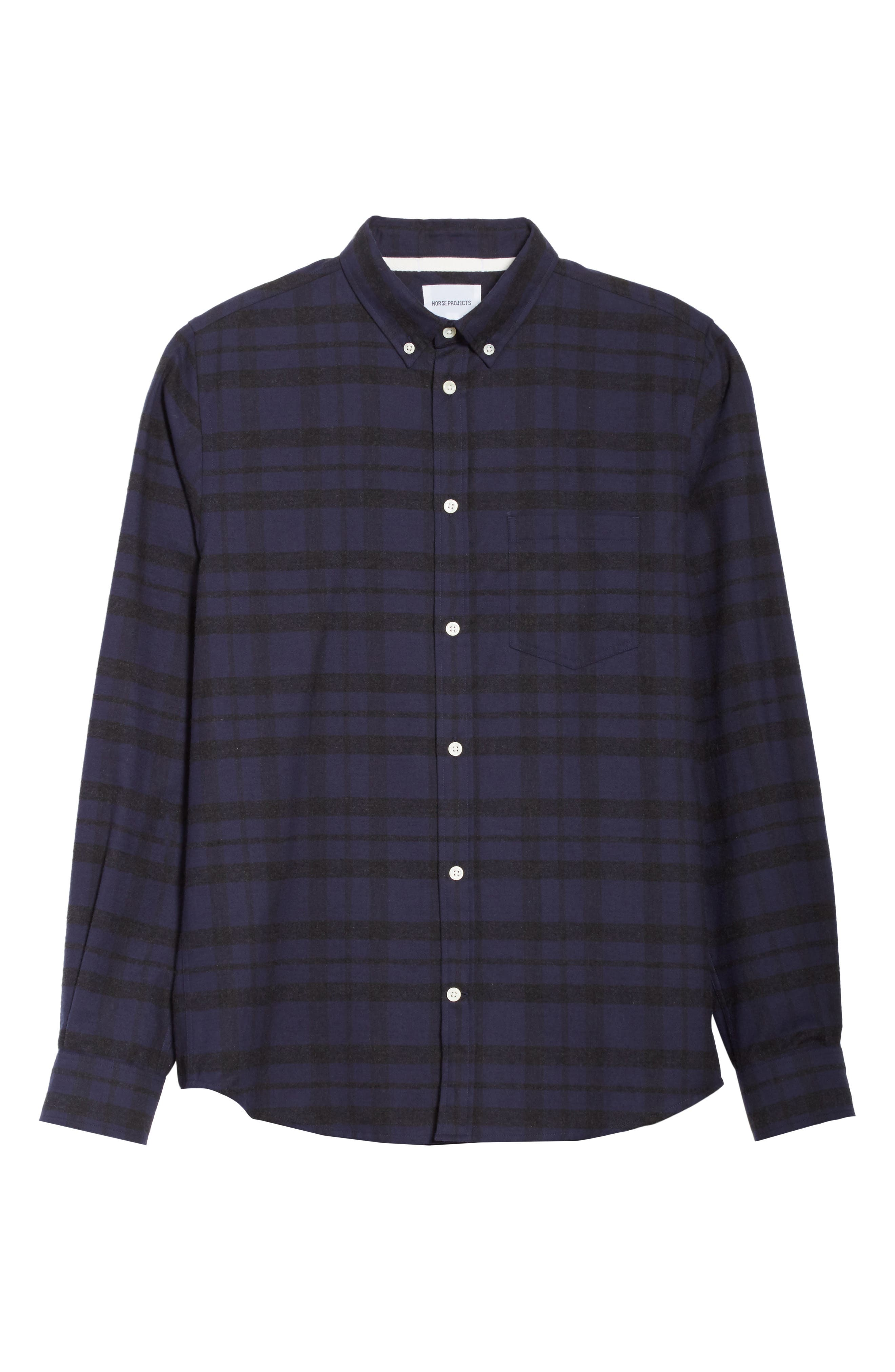 Anton Check Shirt,                             Alternate thumbnail 6, color,                             010