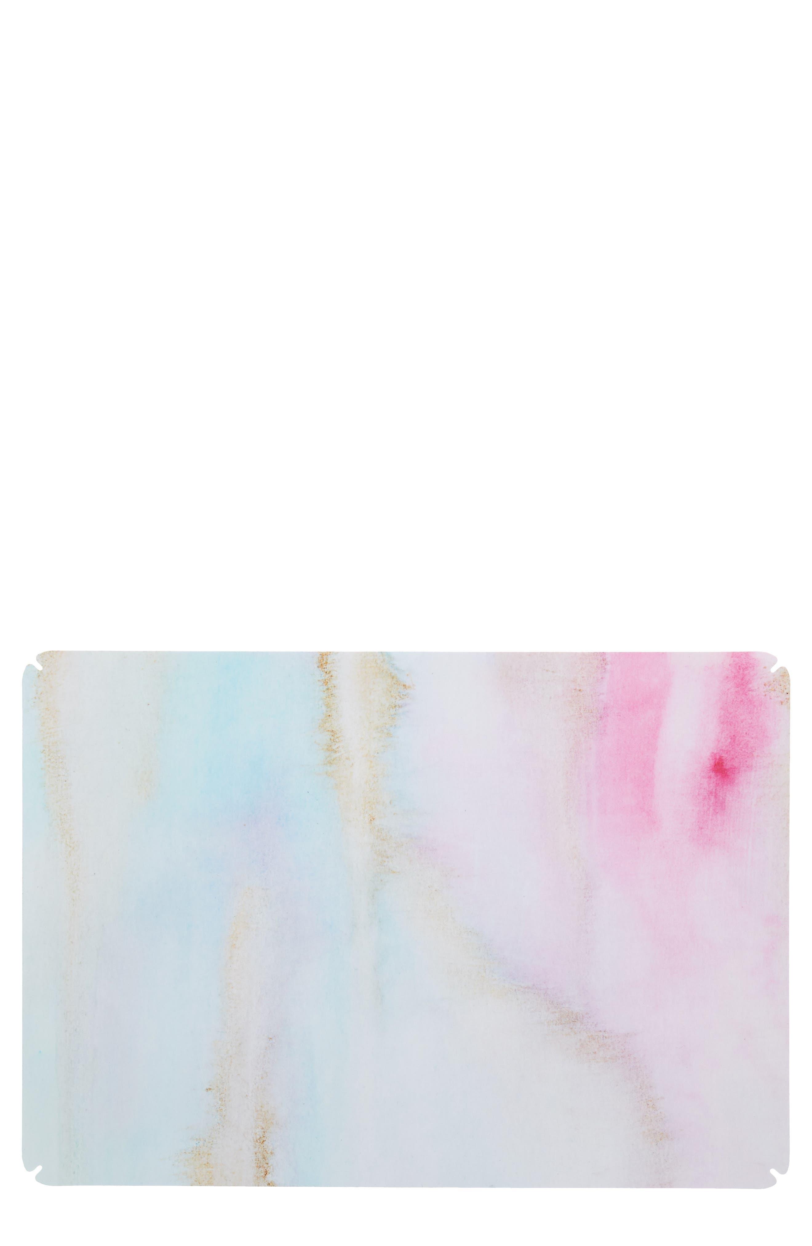 Watercolor Marble 13-Inch Macbook Skin,                             Main thumbnail 1, color,                             PASTEL MULTI