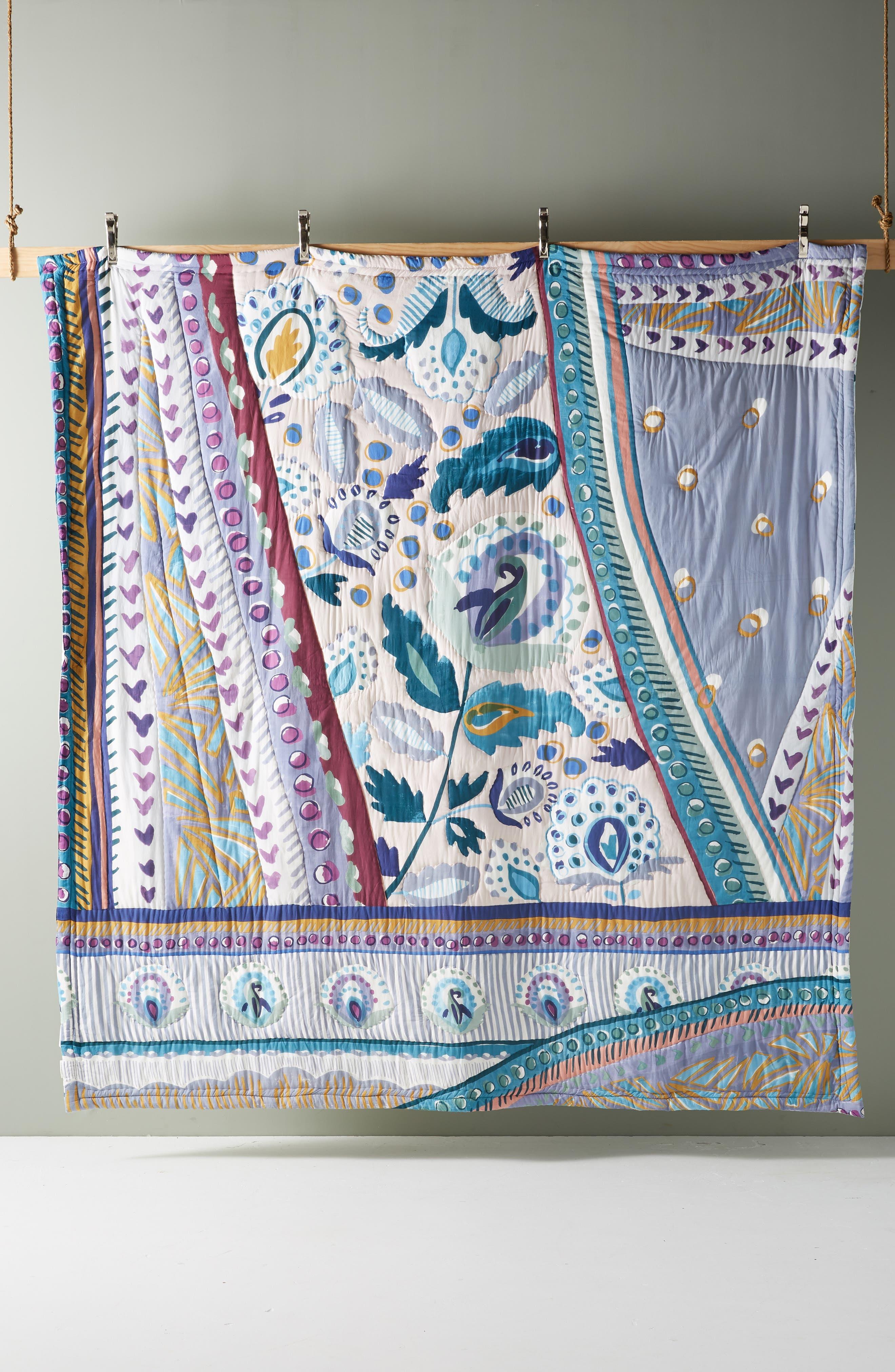Sunder Quilt,                             Alternate thumbnail 3, color,                             BLUE