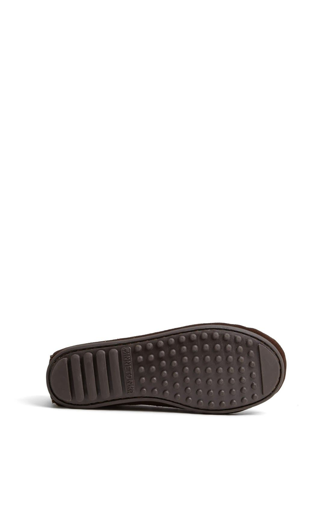 Moccasin,                             Alternate thumbnail 4, color,                             CHOCOLATE