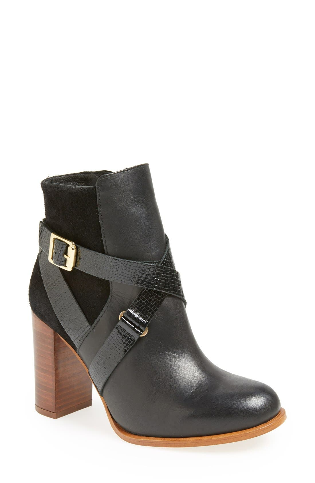 'Aroma' Ankle Boot,                             Main thumbnail 1, color,                             001