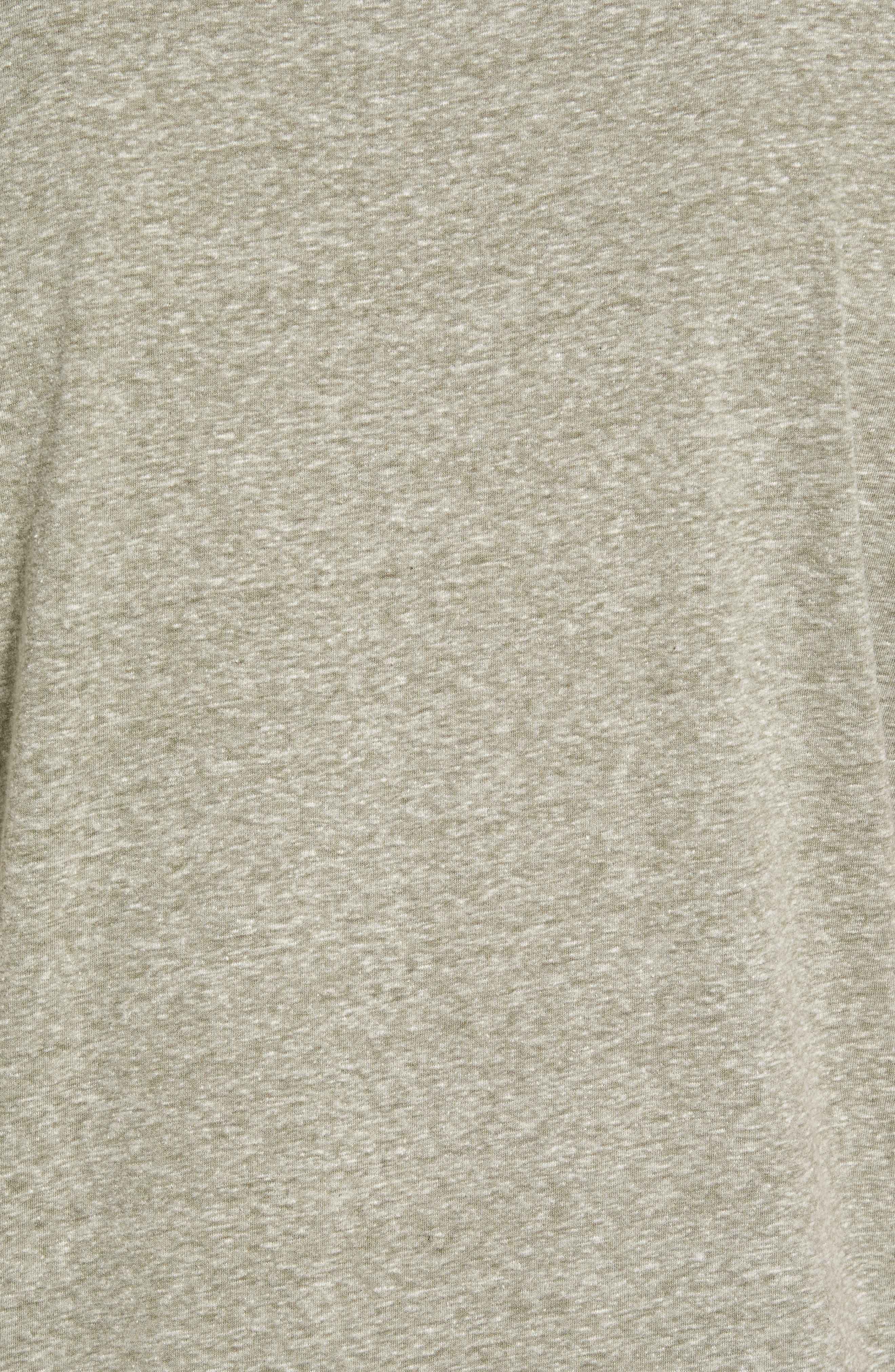 Cotton Blend T-Shirt,                             Alternate thumbnail 5, color,                             301