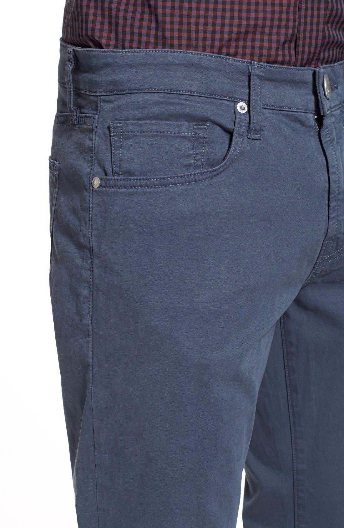 'Kane' Slim Fit Cotton Twill Pants,                             Alternate thumbnail 69, color,