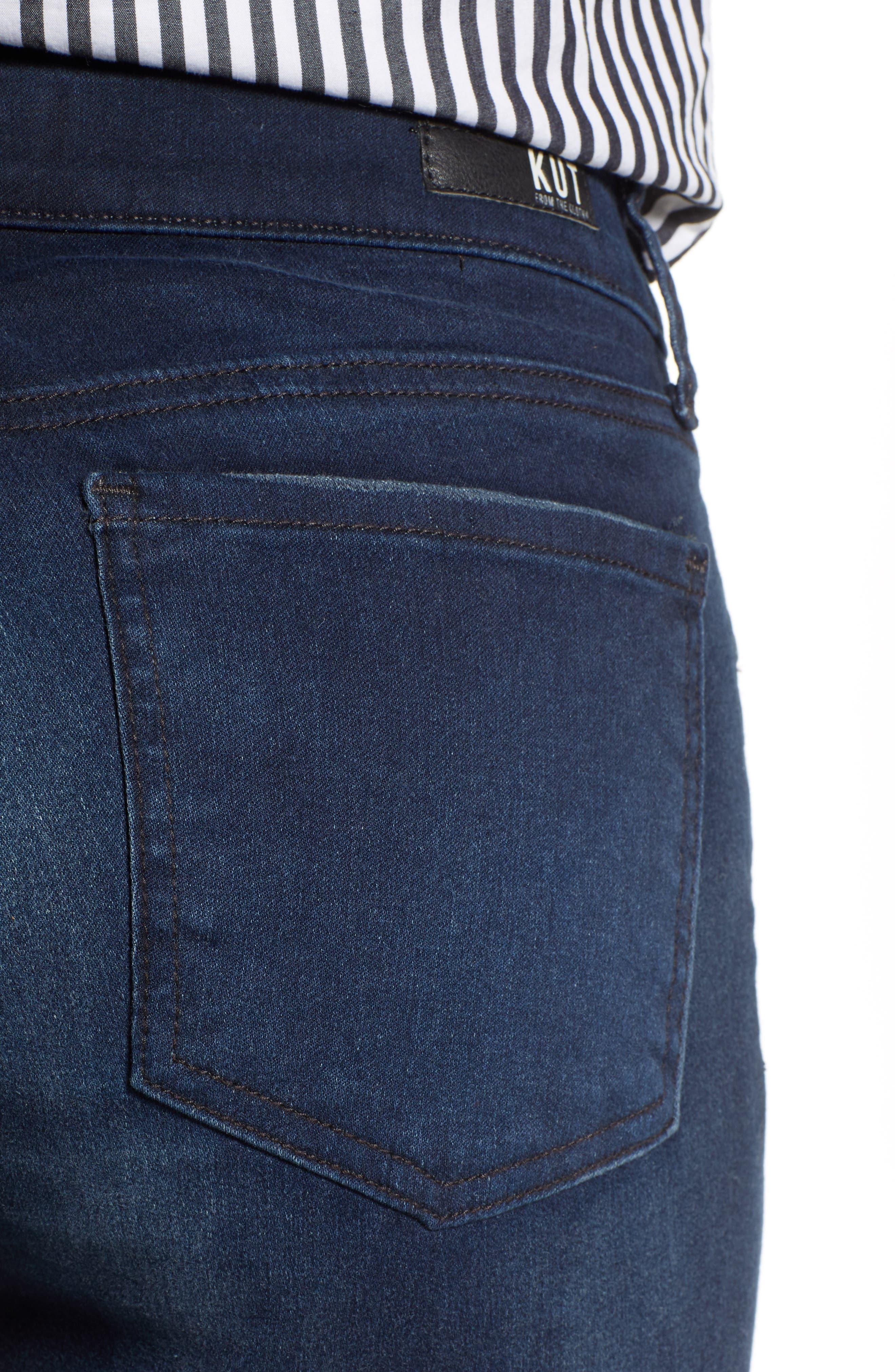 Diana Skinny Jeans,                             Alternate thumbnail 4, color,                             ART W/ EURO BASE WASH