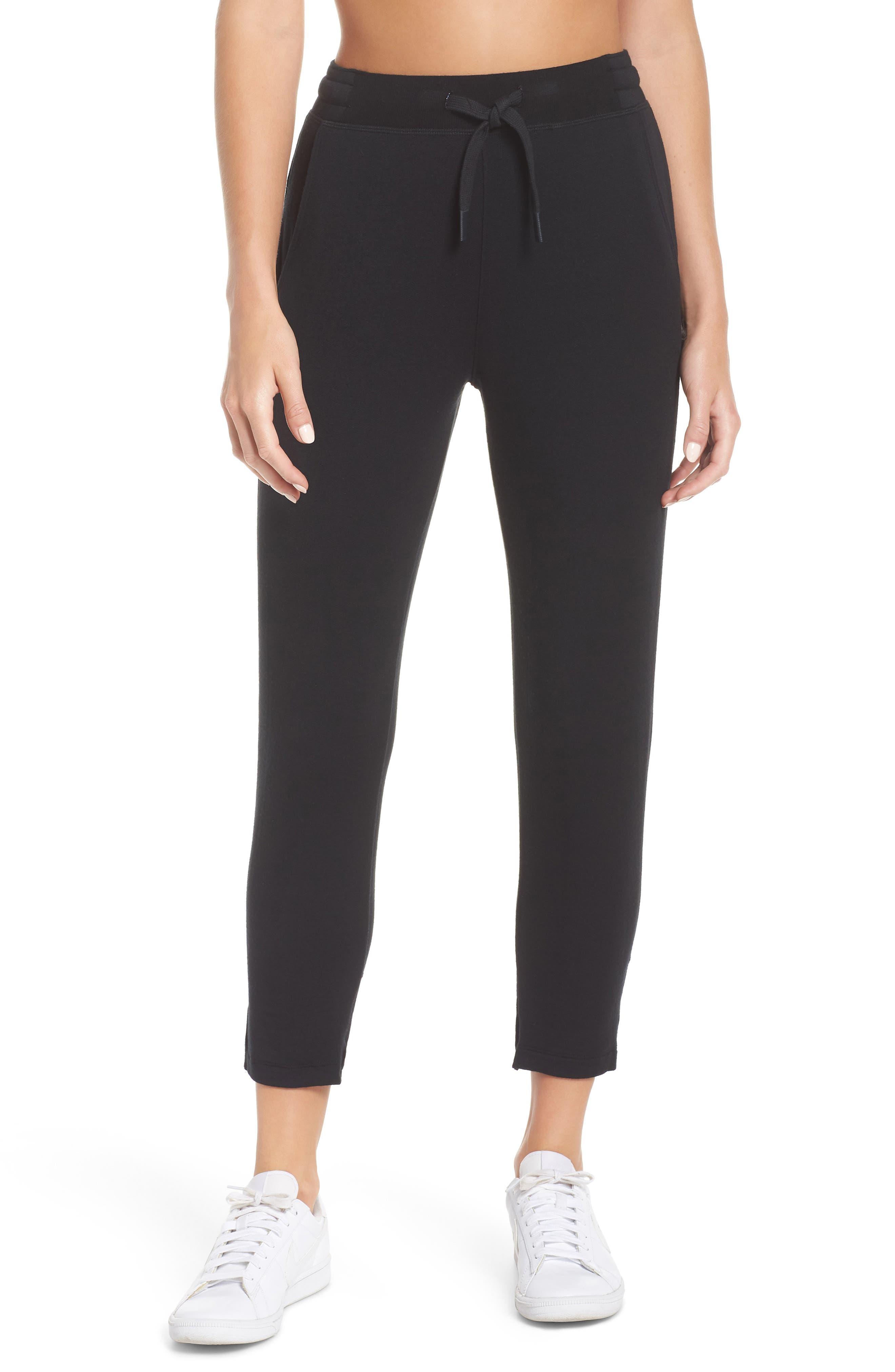Reena Ankle Pants,                         Main,                         color, BLACK