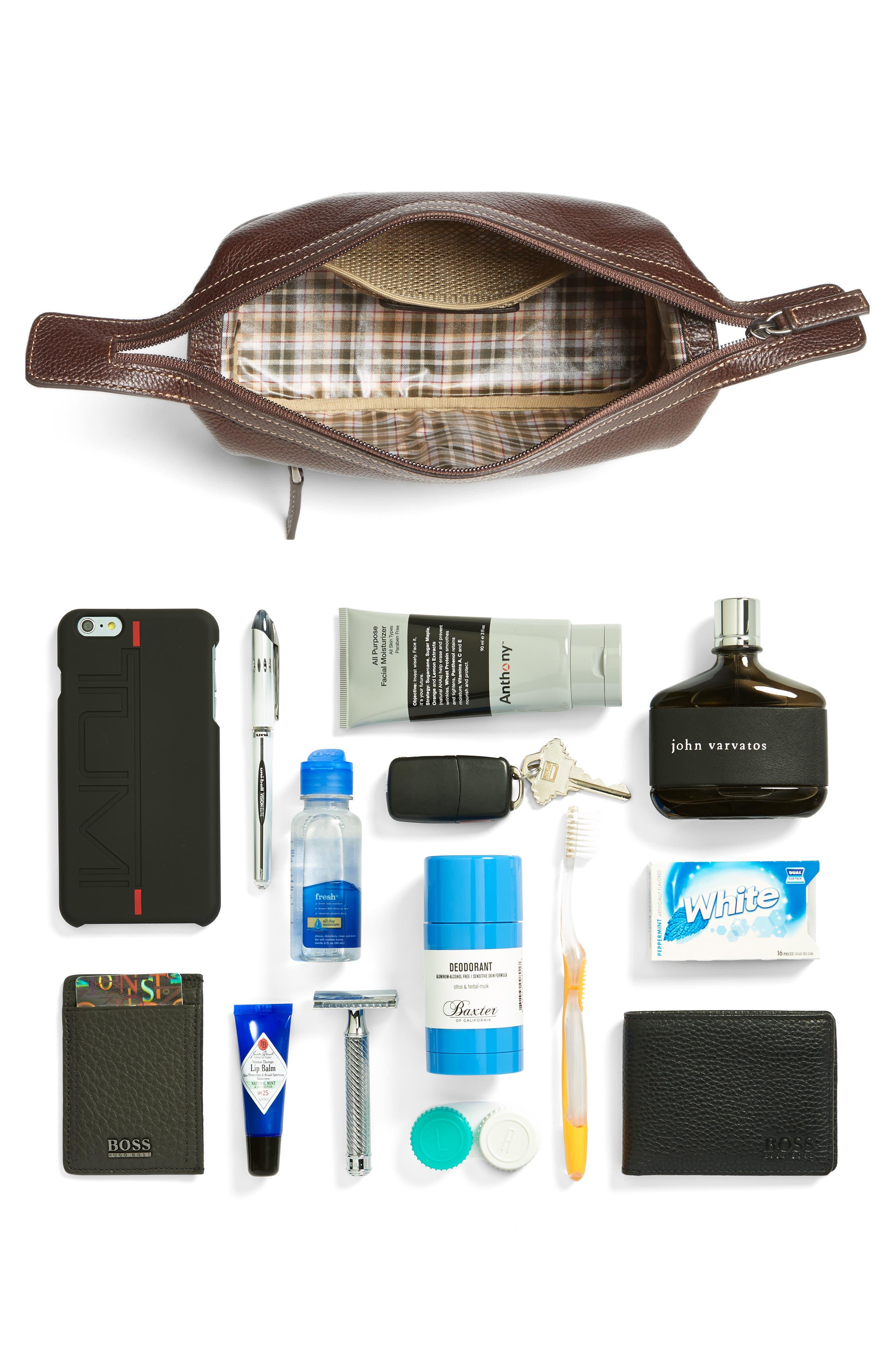 'Tyler' Travel Kit,                             Alternate thumbnail 4, color,