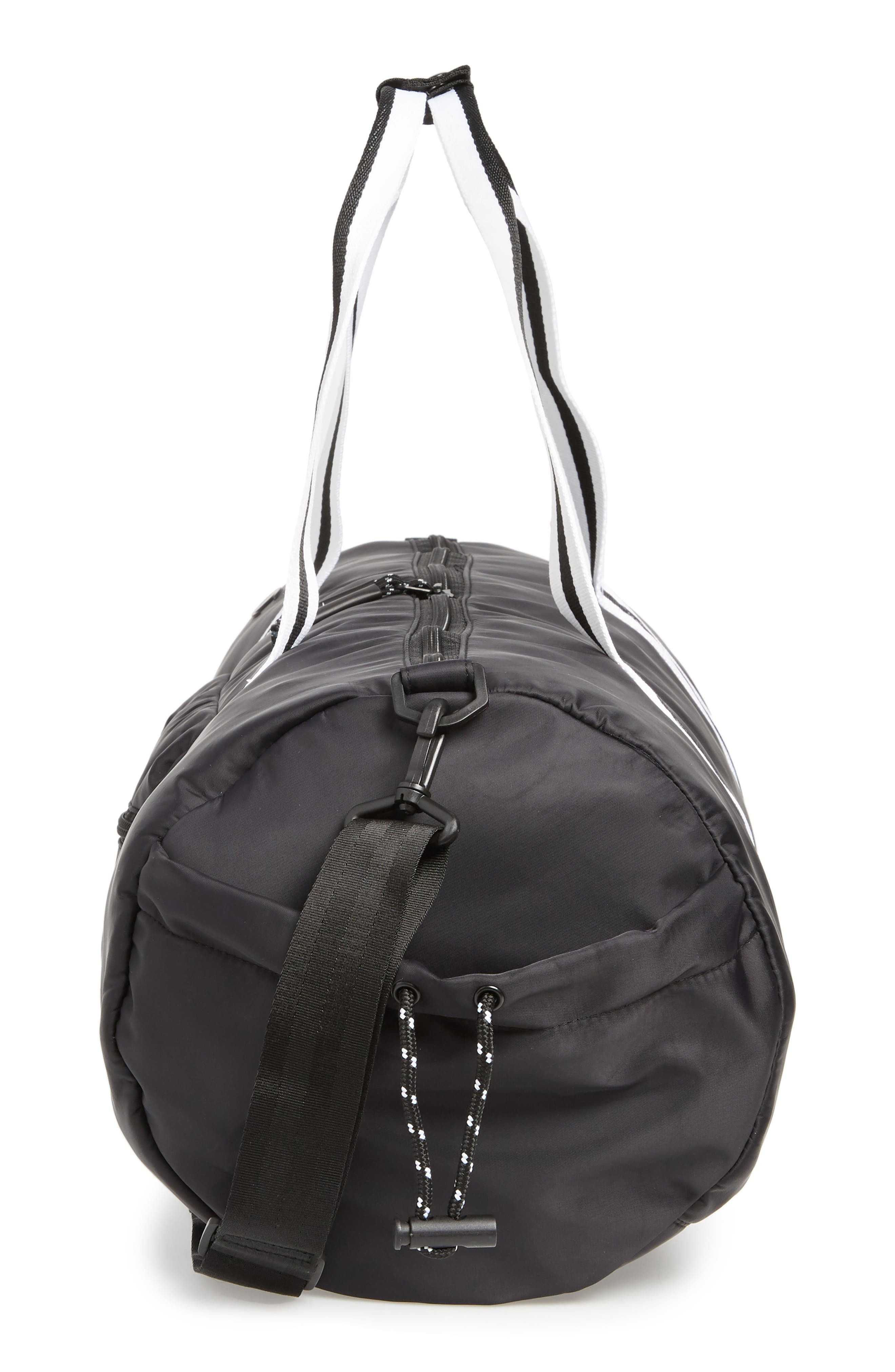 Free Form Duffel Bag,                             Alternate thumbnail 5, color,                             BLACK