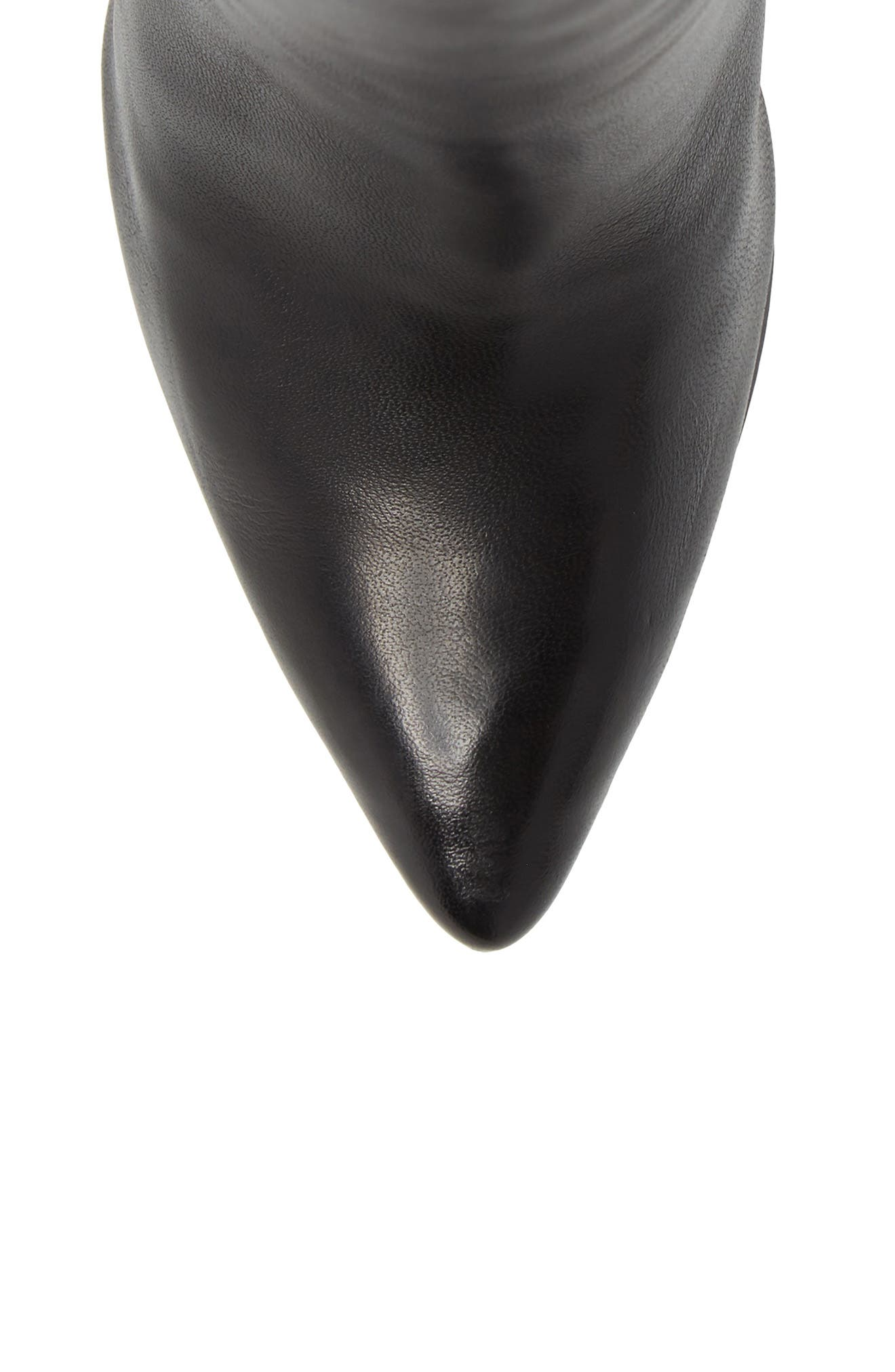 Ethan Pointy Toe Bootie,                             Alternate thumbnail 5, color,                             001