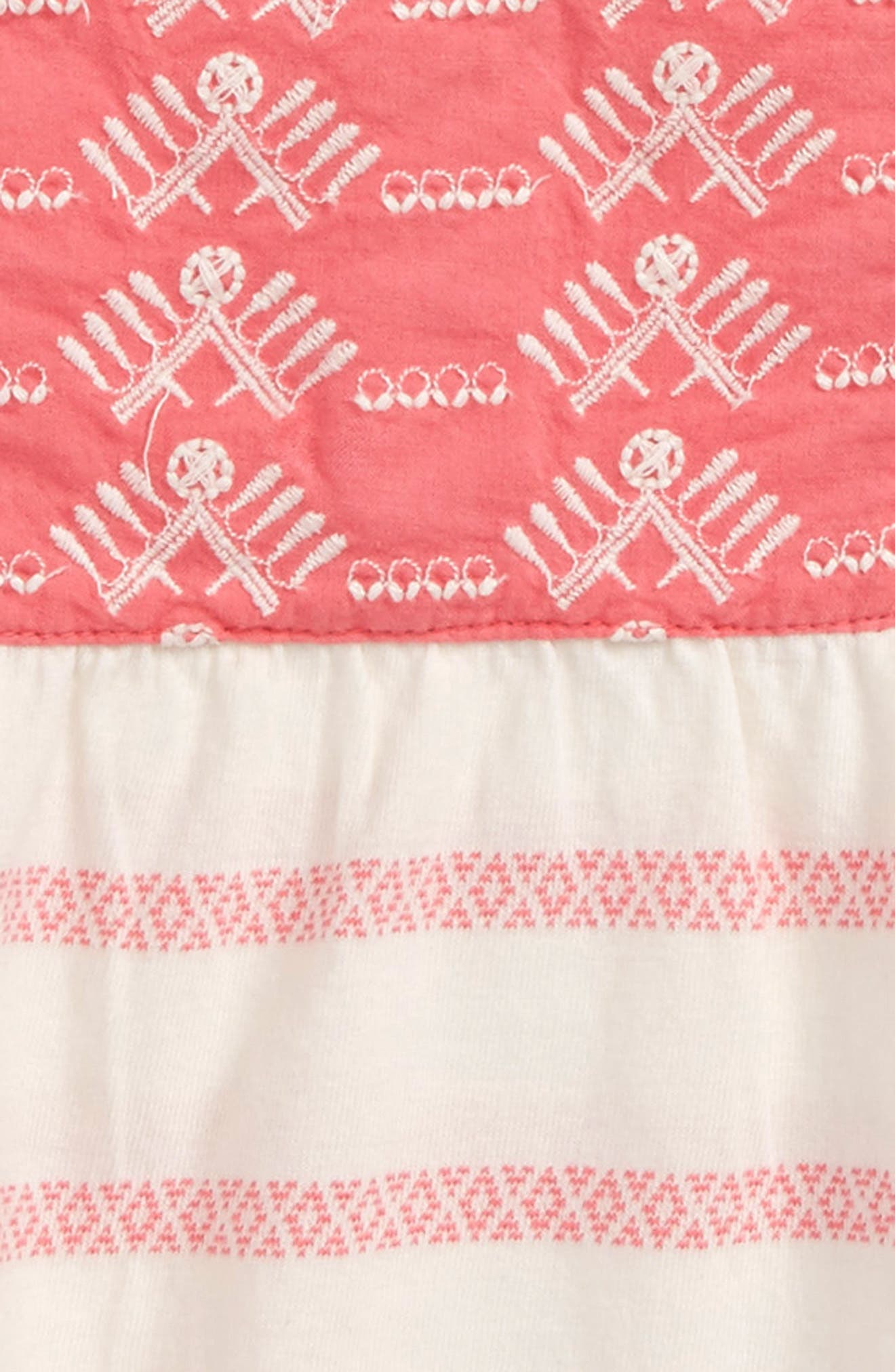Embroidered Dress,                             Alternate thumbnail 2, color,                             660