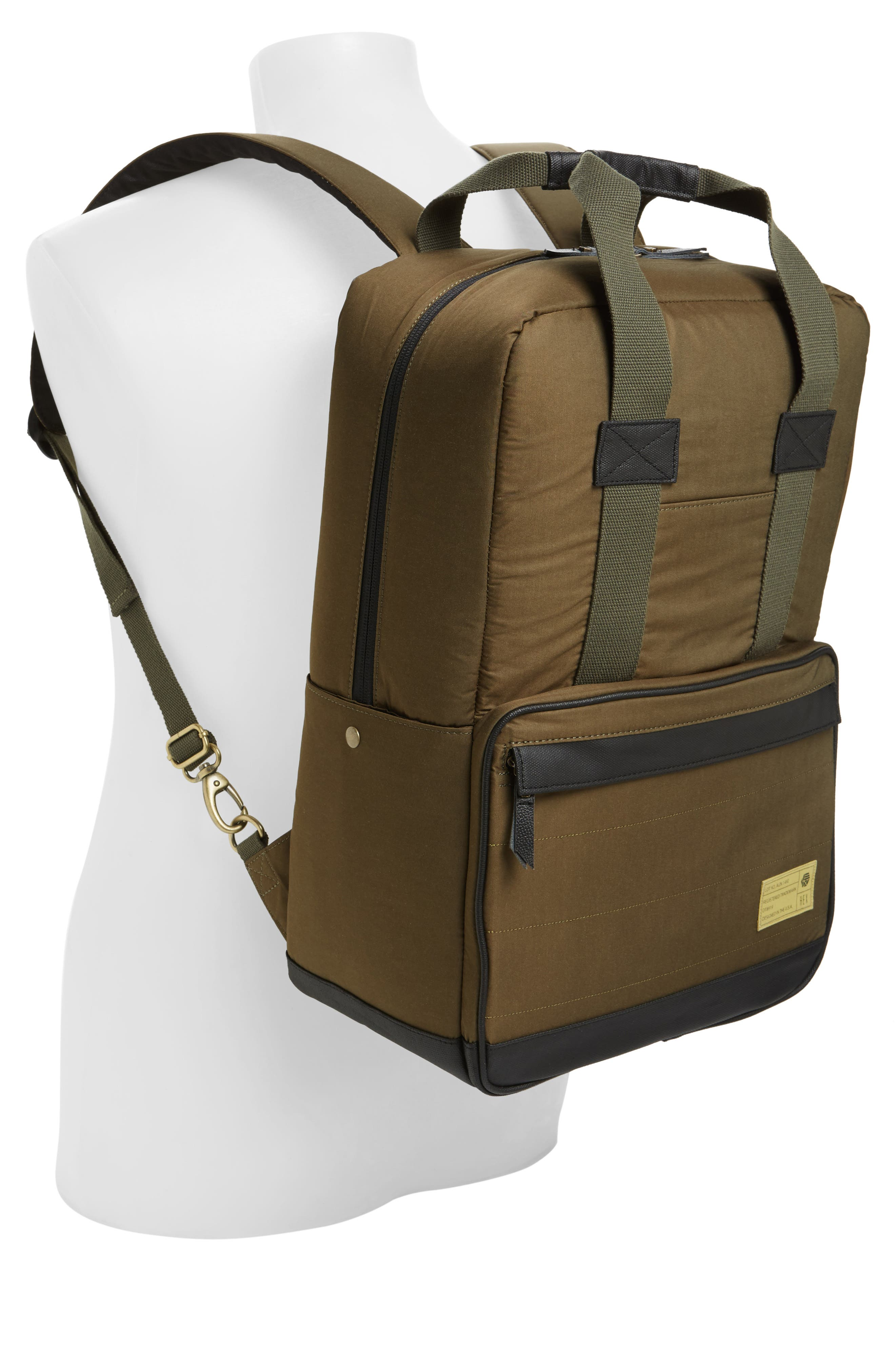 Supply Convertible Water Resistant Backpack,                             Alternate thumbnail 10, color,