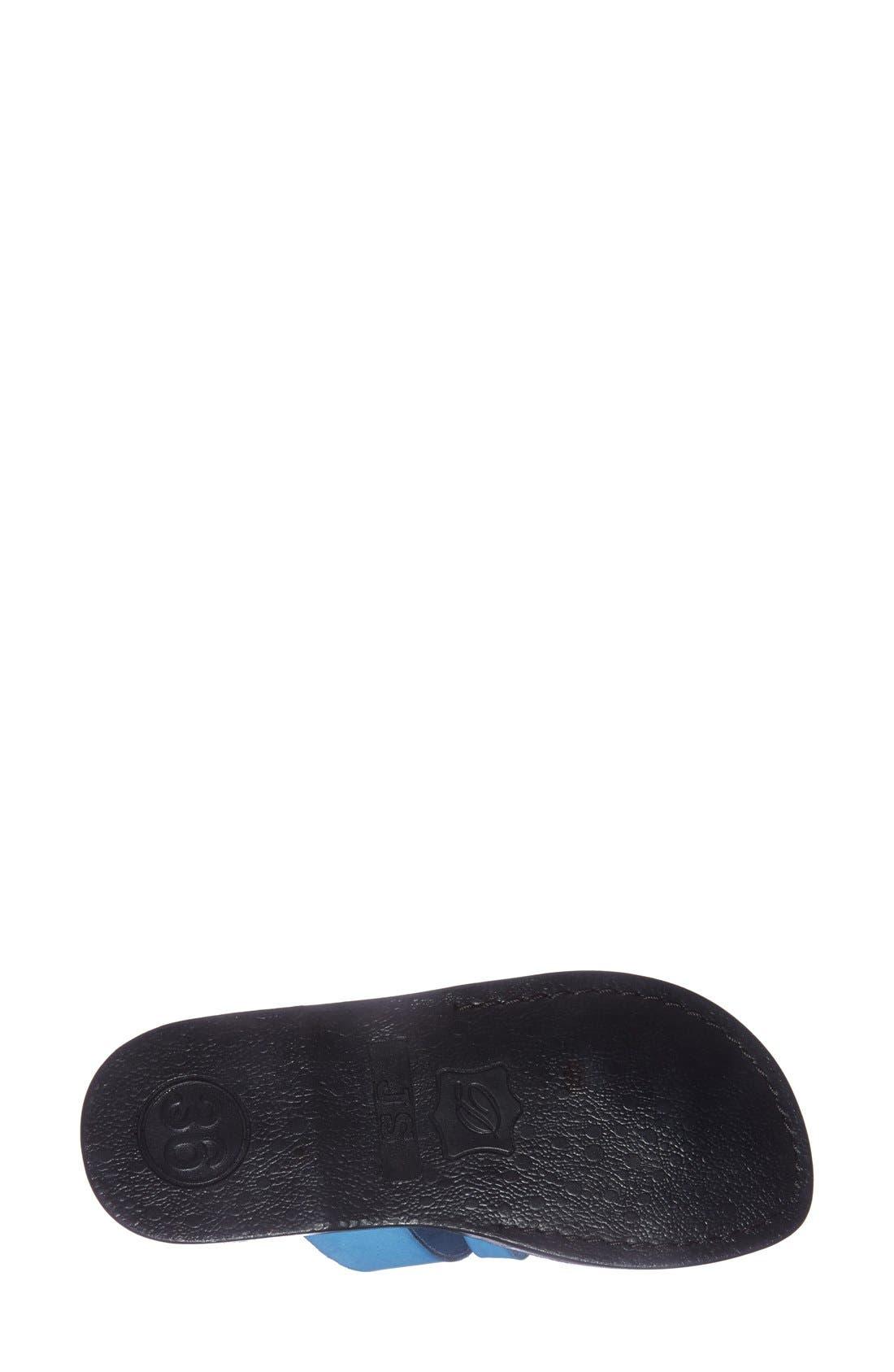 'The Good Shepard' Leather Sandal,                             Alternate thumbnail 30, color,