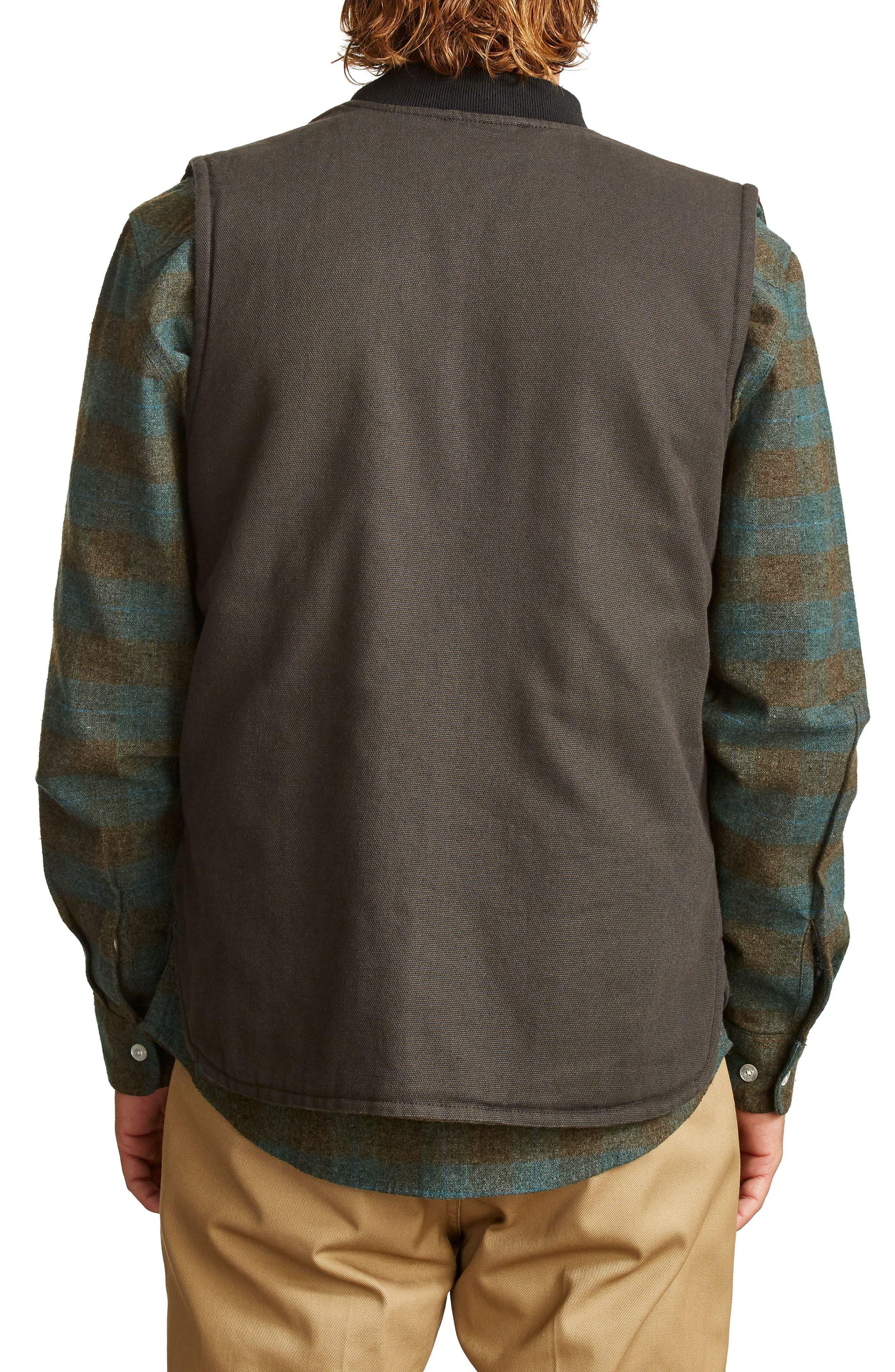 Abraham Water Resistant Vest,                             Alternate thumbnail 2, color,                             050