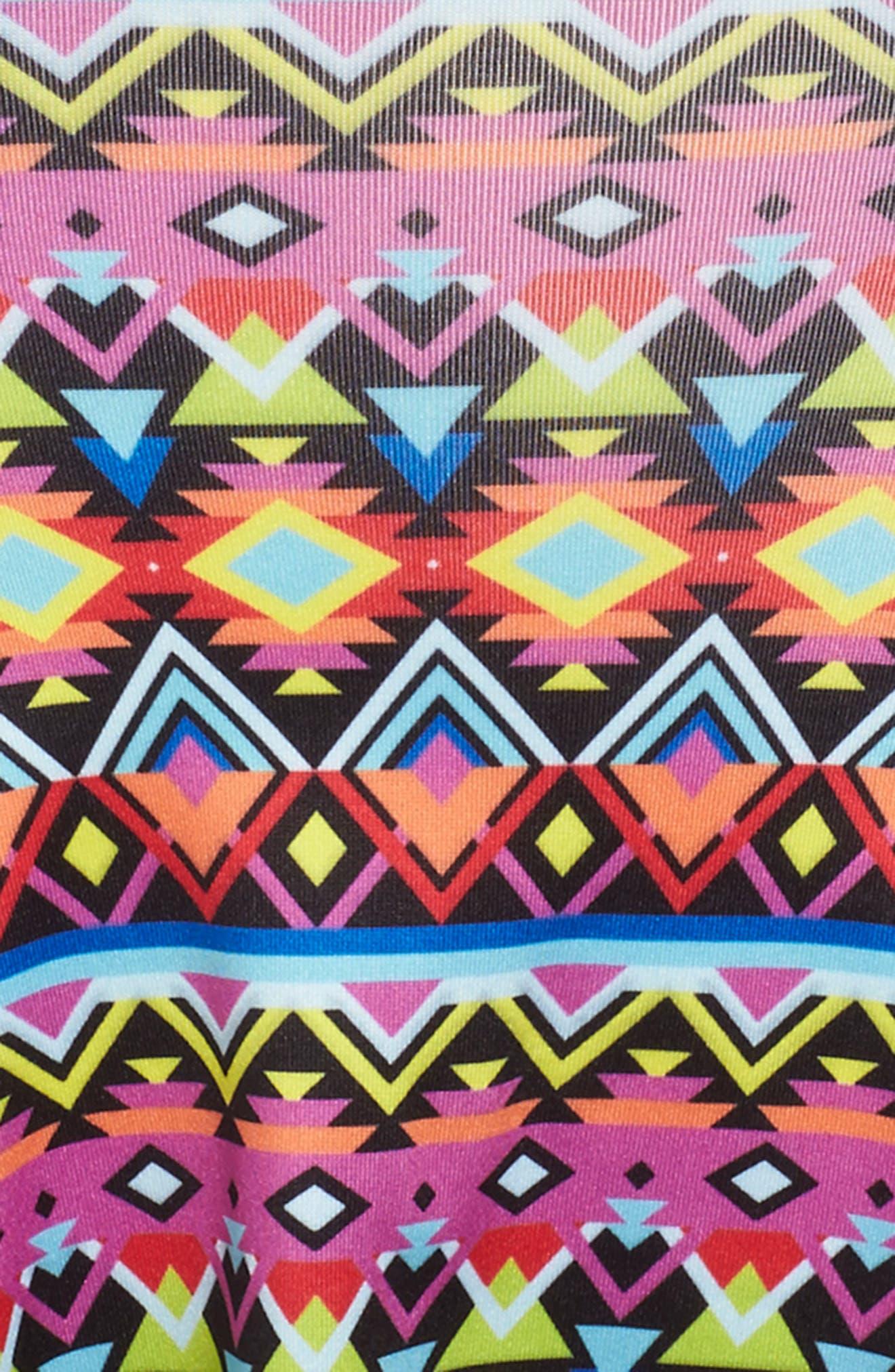 Flow Mixed Print Dress,                             Alternate thumbnail 38, color,