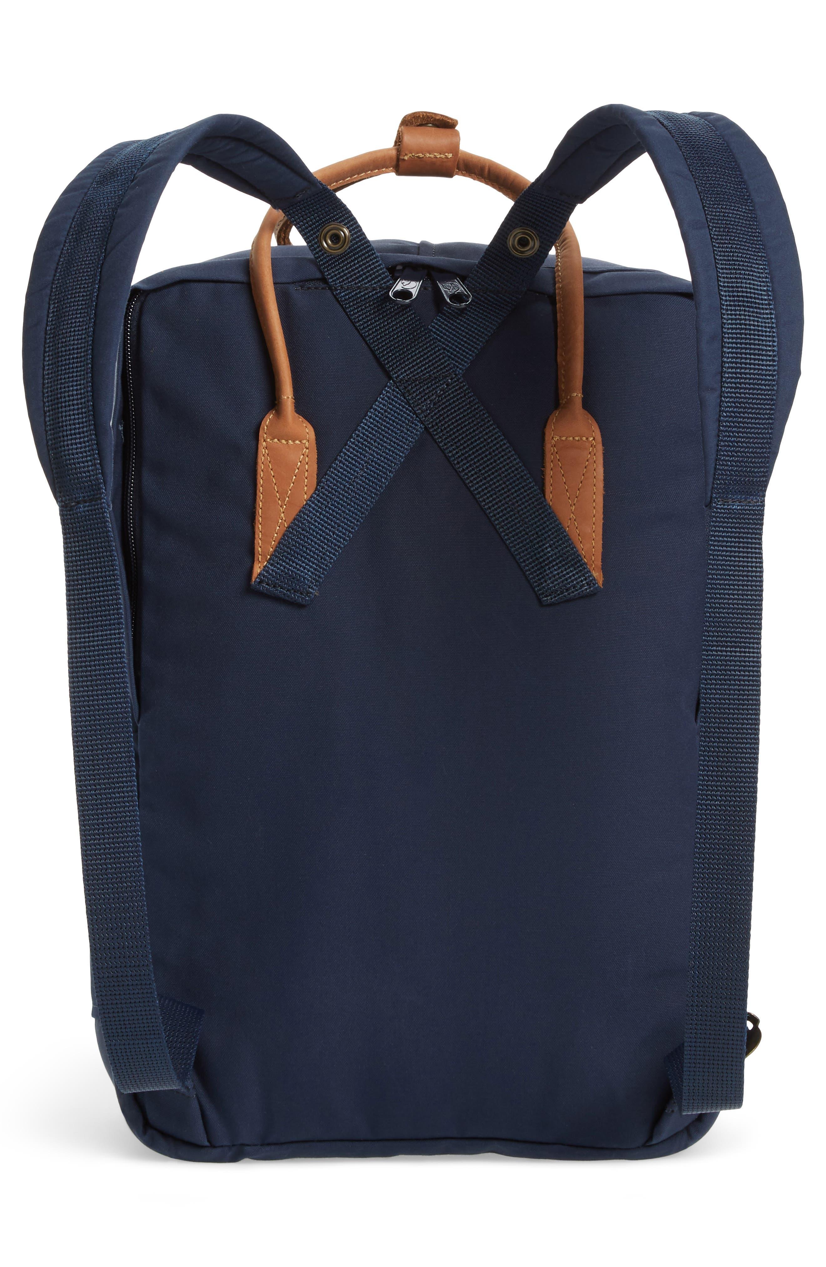 """Kånken No. 2 15"""" Laptop Backpack,                             Alternate thumbnail 3, color,                             NAVY"""
