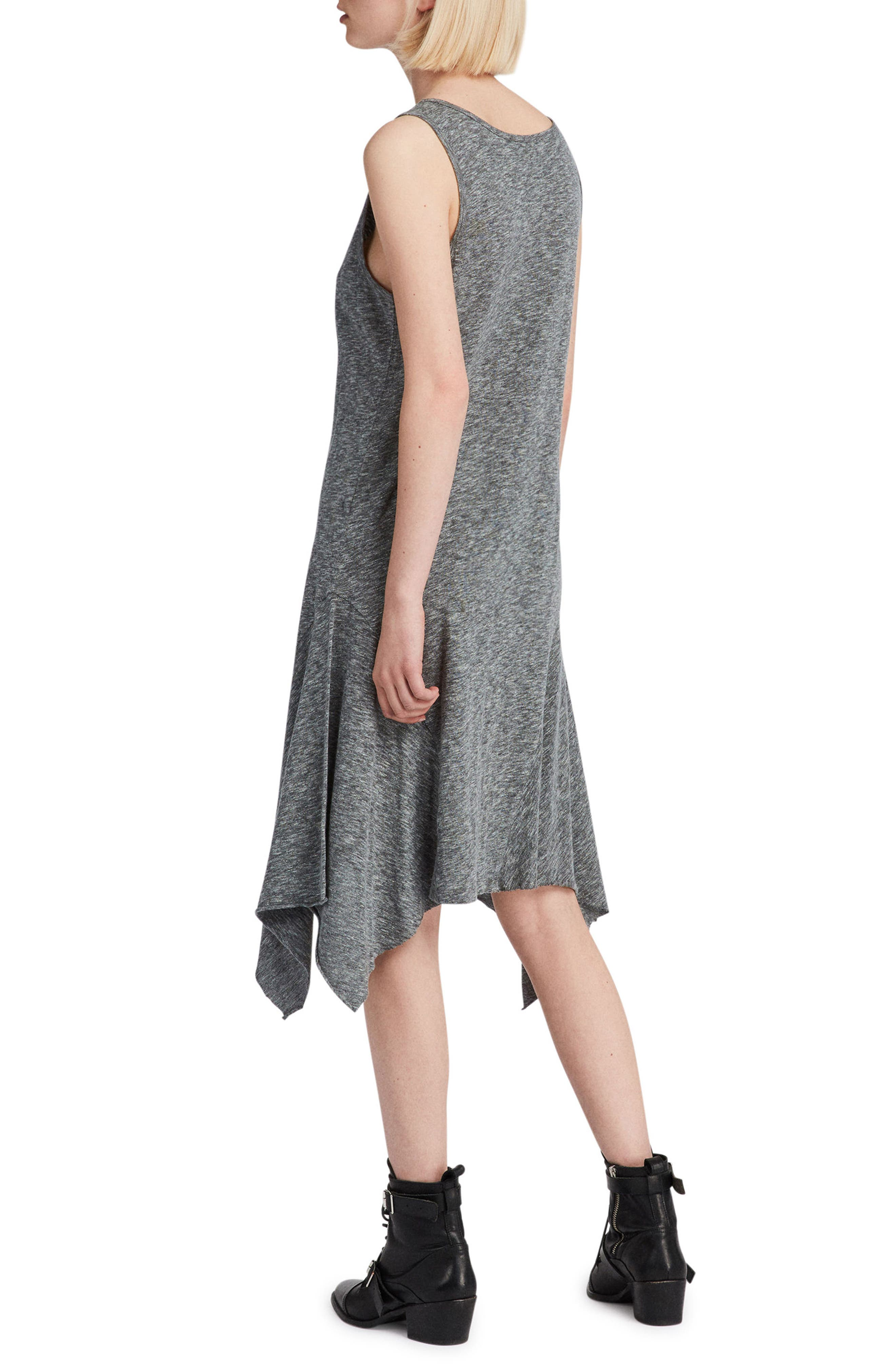 Ella Flame Handkerchief Hem Tank Dress,                             Alternate thumbnail 2, color,                             034