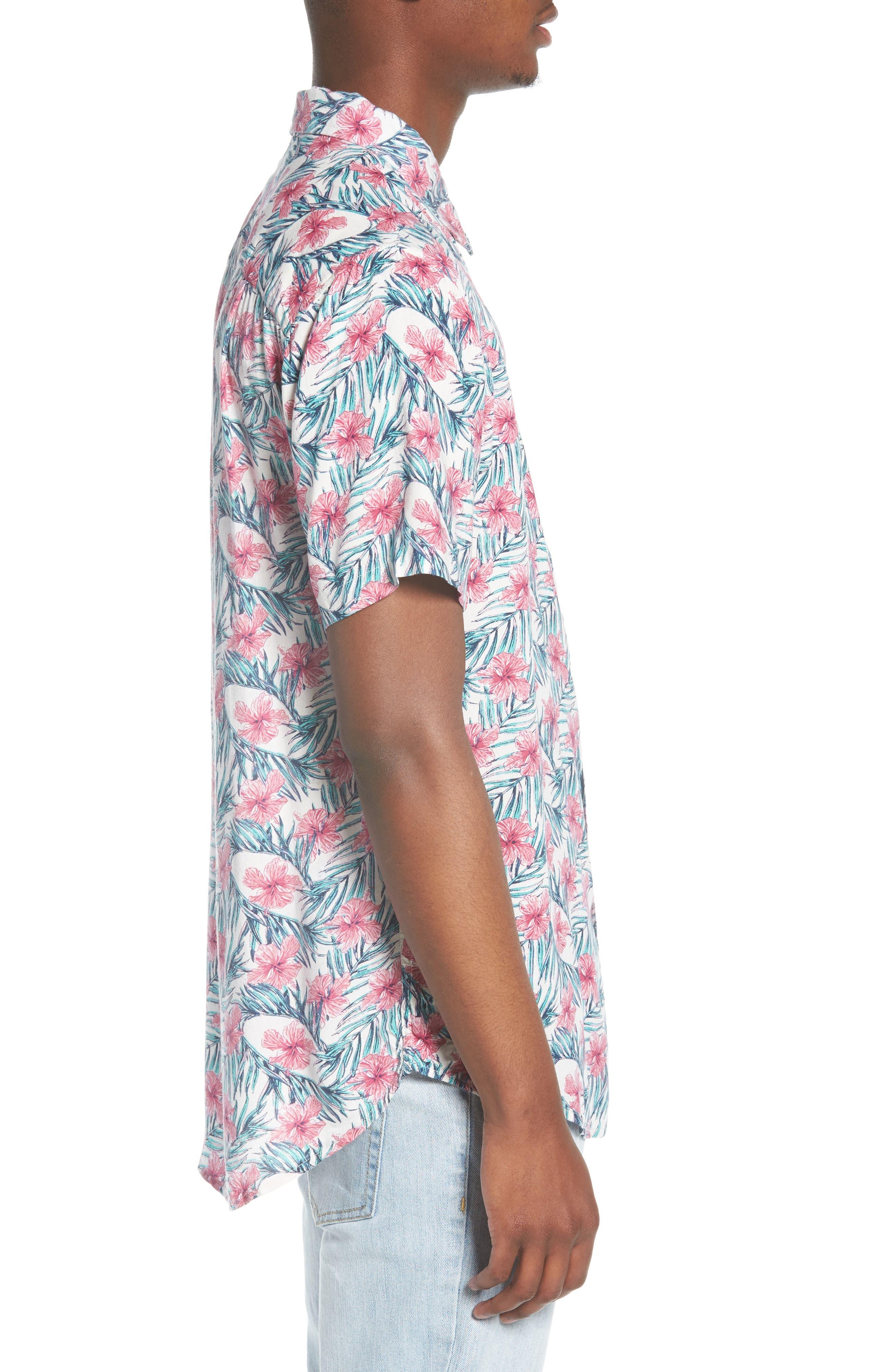 Carolina Woven Shirt,                             Alternate thumbnail 3, color,                             100