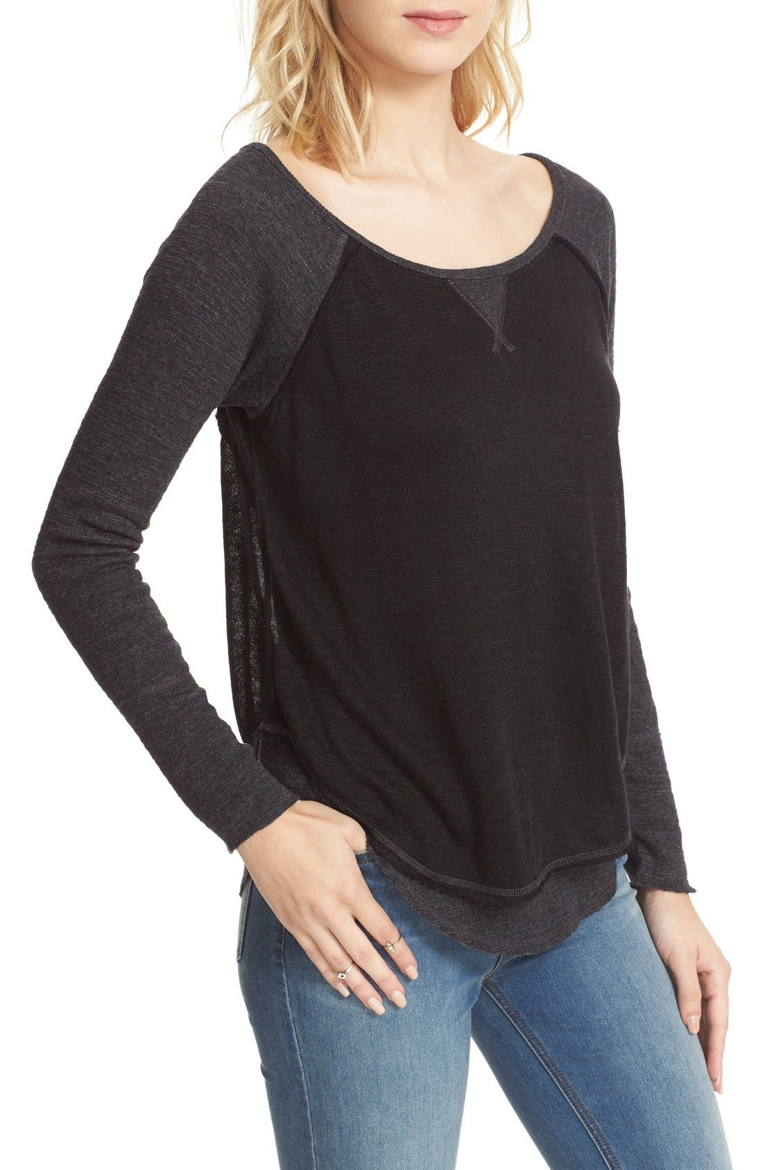 We the Free by Free People Friday Feelin Tee,                             Alternate thumbnail 18, color,
