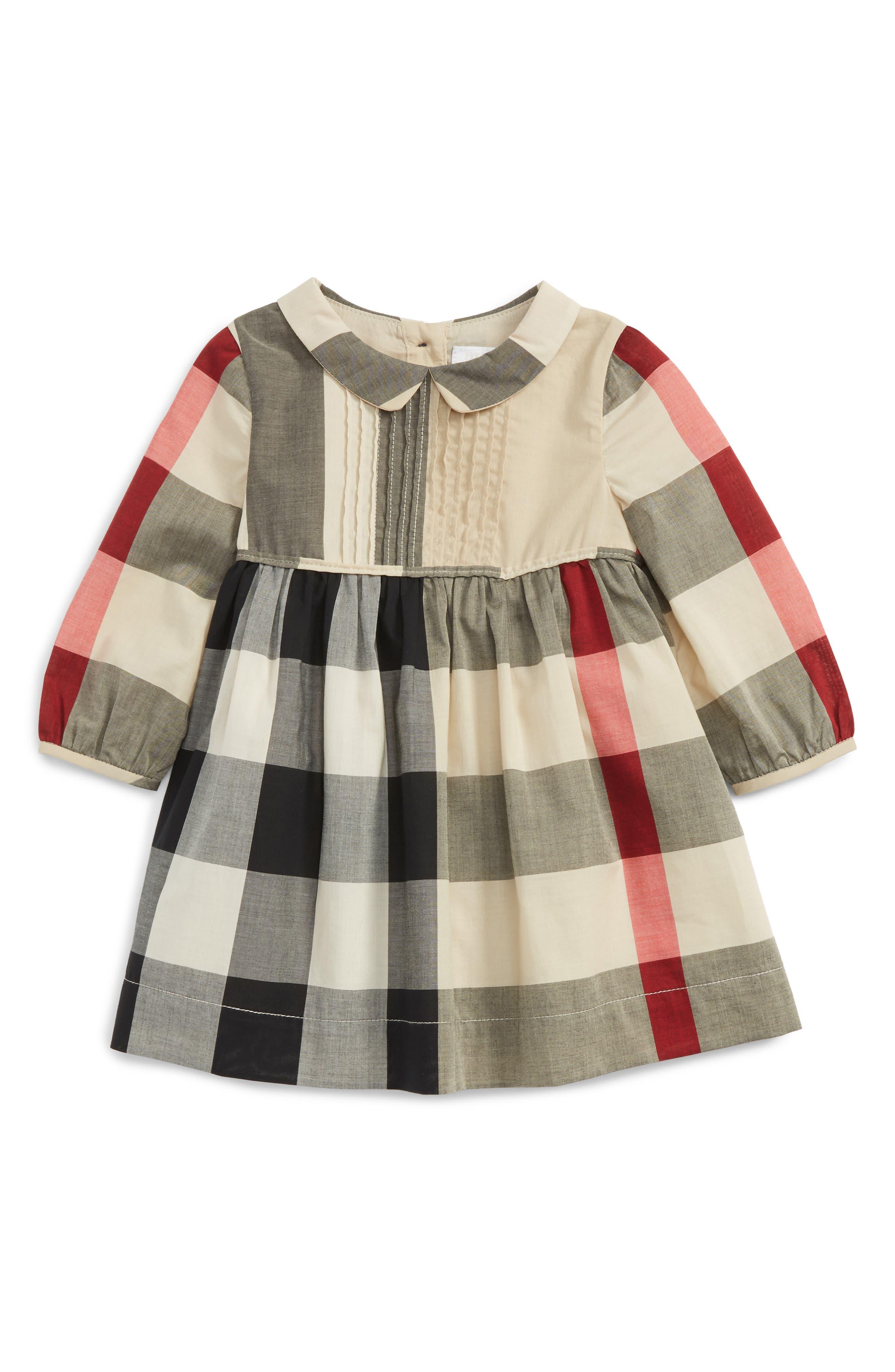 Liza Check Dress,                         Main,                         color, 272