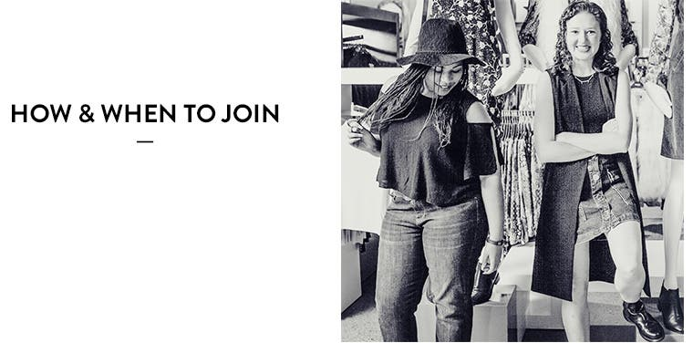 How and when to join the Nordstrom Fashion Ambassador program.