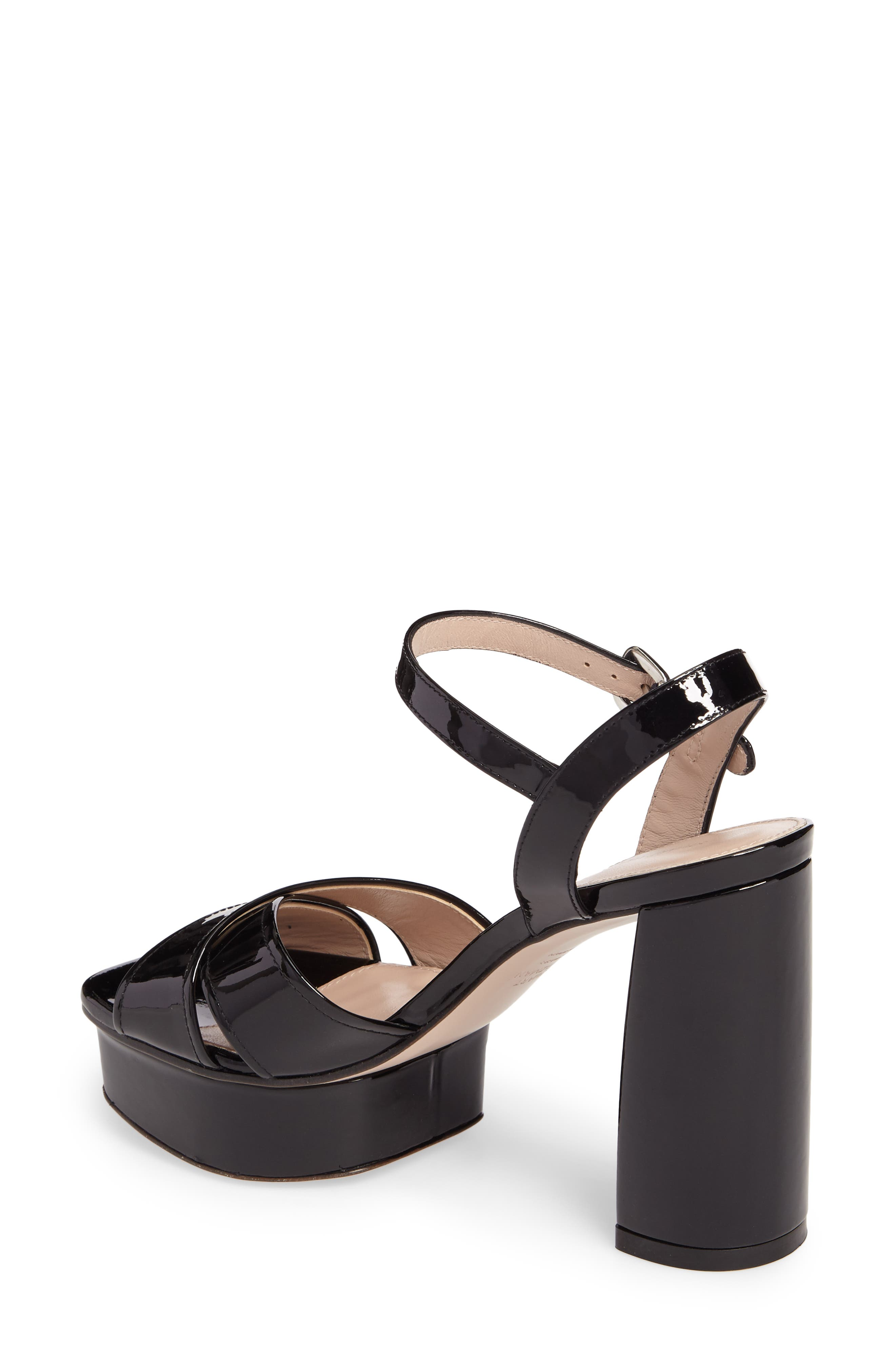 Exposed Platform Sandal,                             Alternate thumbnail 6, color,