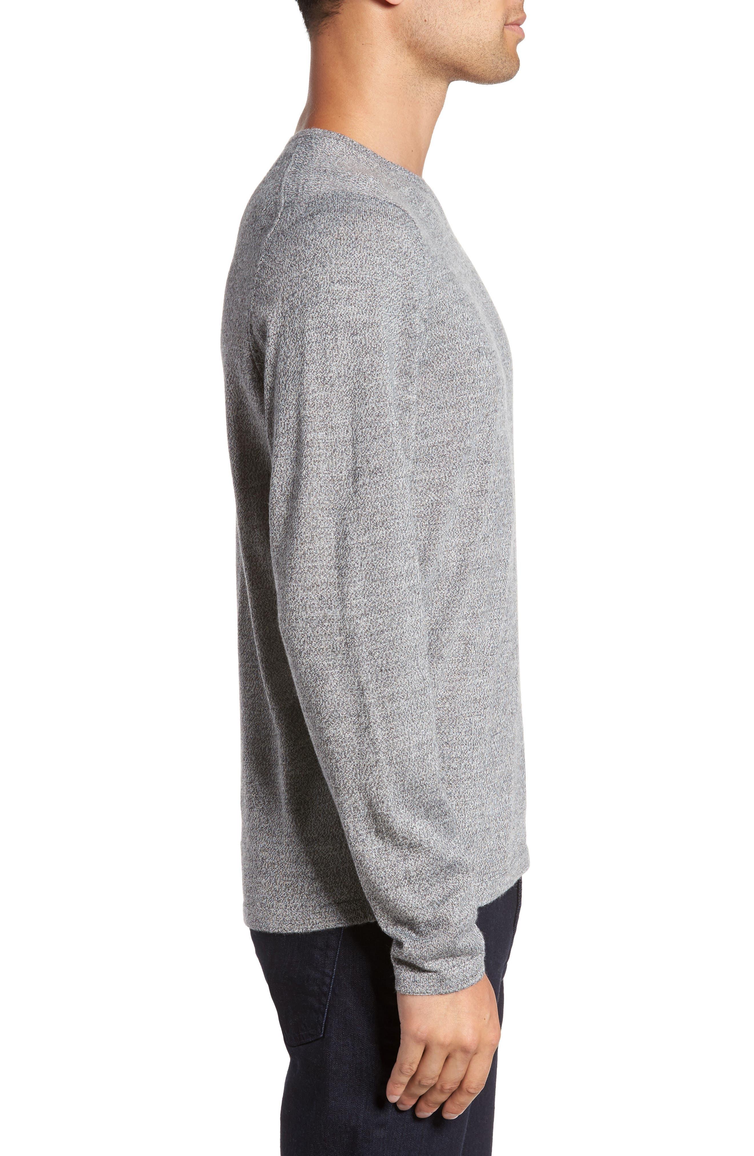 Merino Blend Crewneck Sweater,                             Alternate thumbnail 10, color,