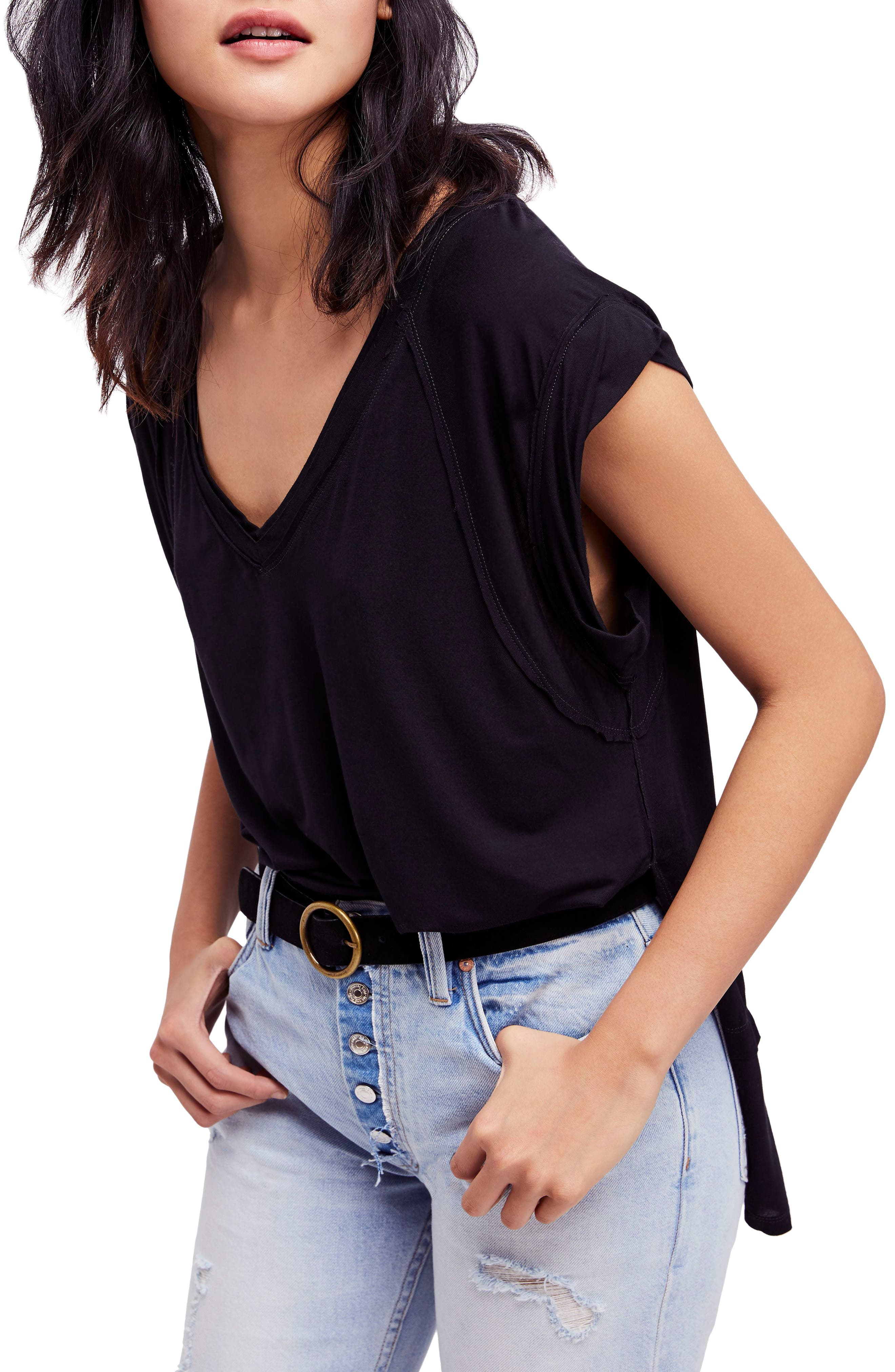 We the Free by Free People Voyage Tee,                         Main,                         color,