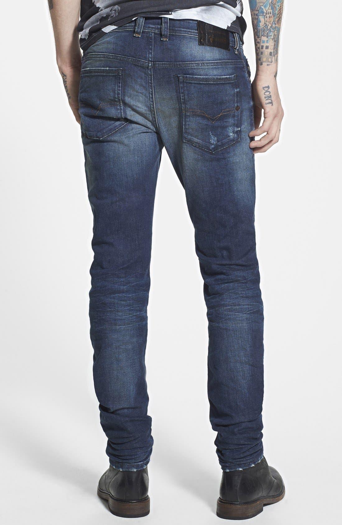 'Sleenker' Skinny Fit Jeans,                             Alternate thumbnail 2, color,                             499