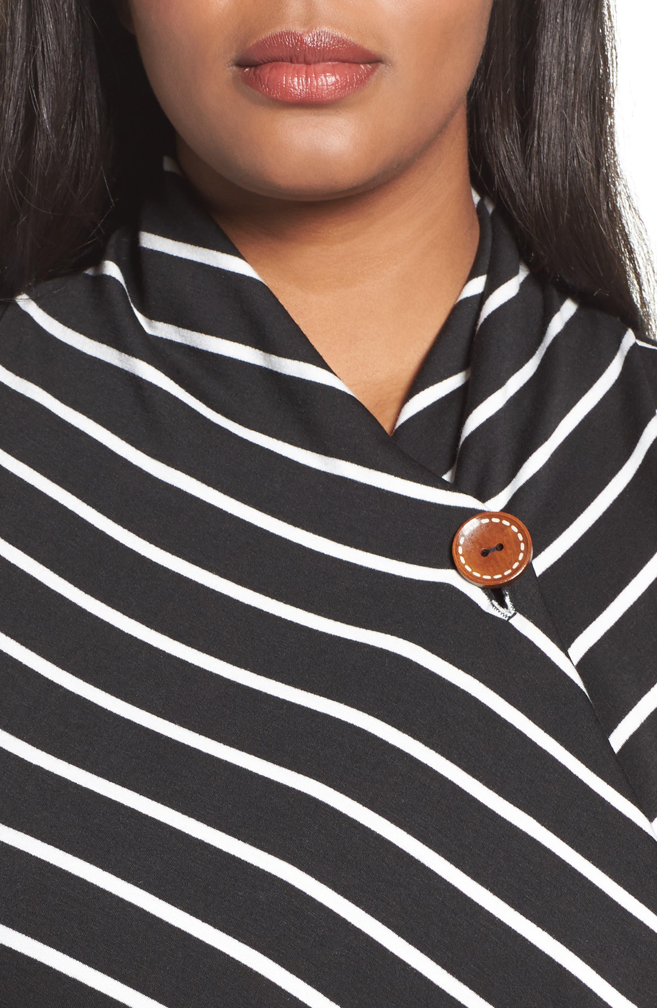 One-Button Fleece Cardigan,                             Alternate thumbnail 175, color,