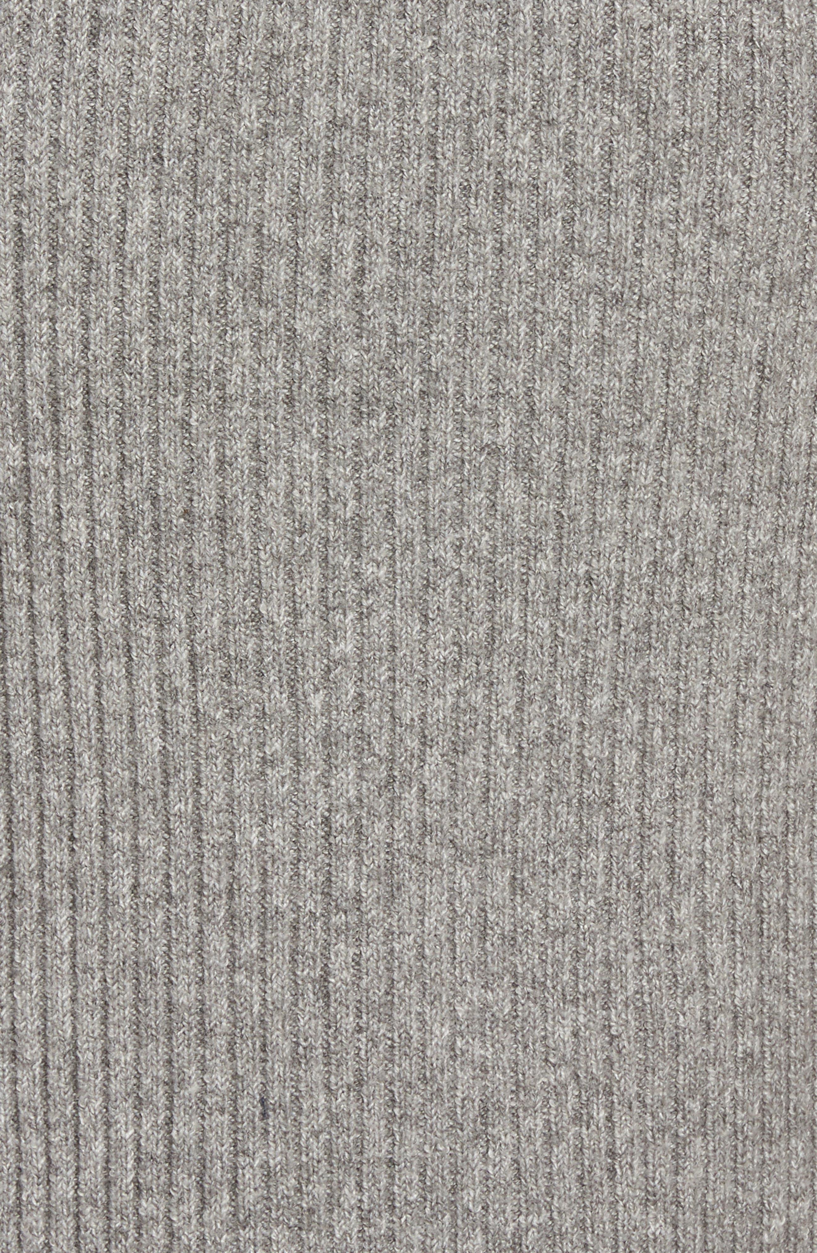 Ribbed Maxi Sweater Dress,                             Alternate thumbnail 5, color,