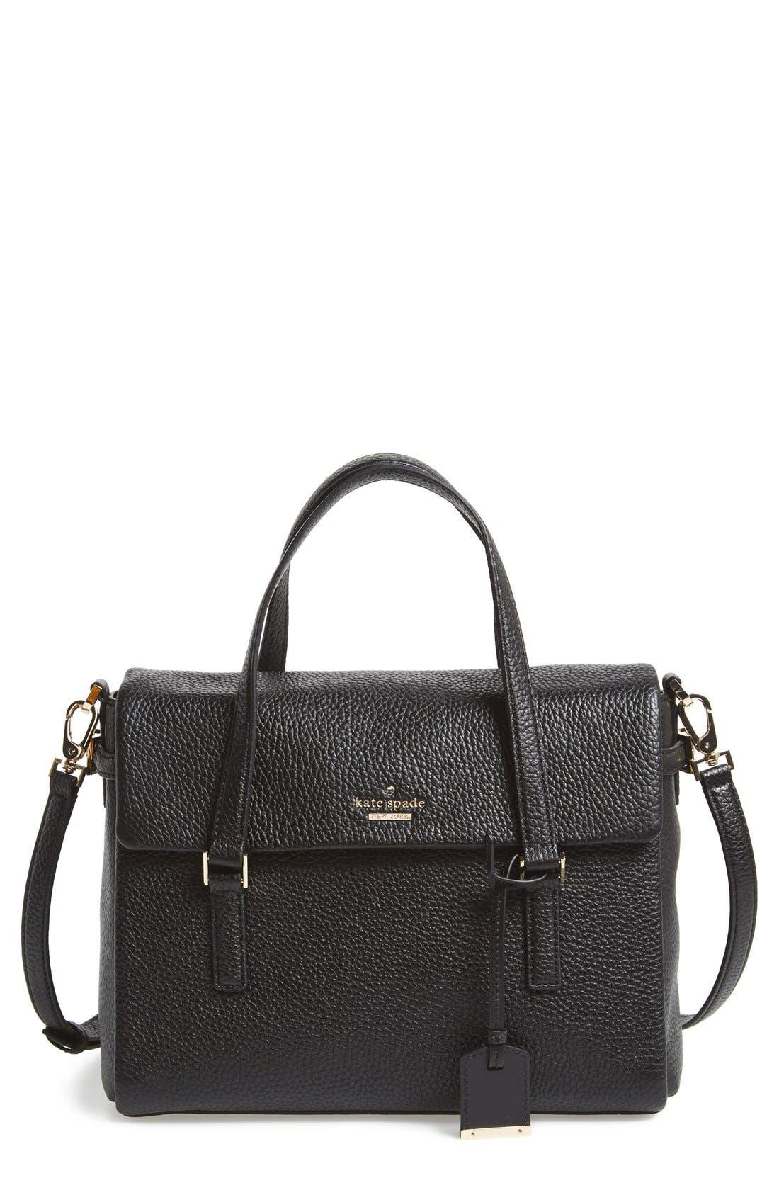 'holden street - small leslie' satchel, Main, color, 001