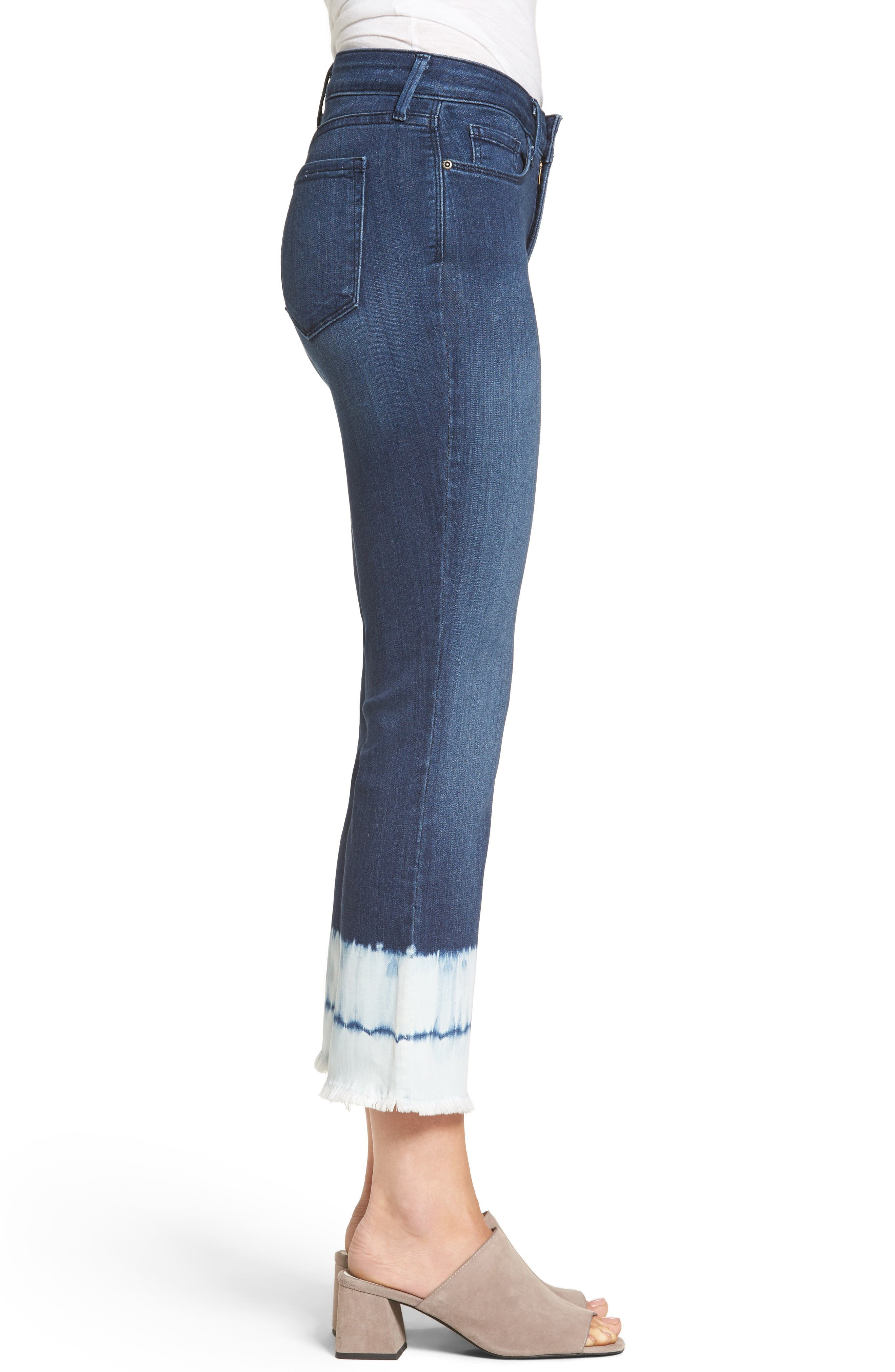 Billie Stretch Crop Bootcut Jeans,                             Alternate thumbnail 3, color,                             421