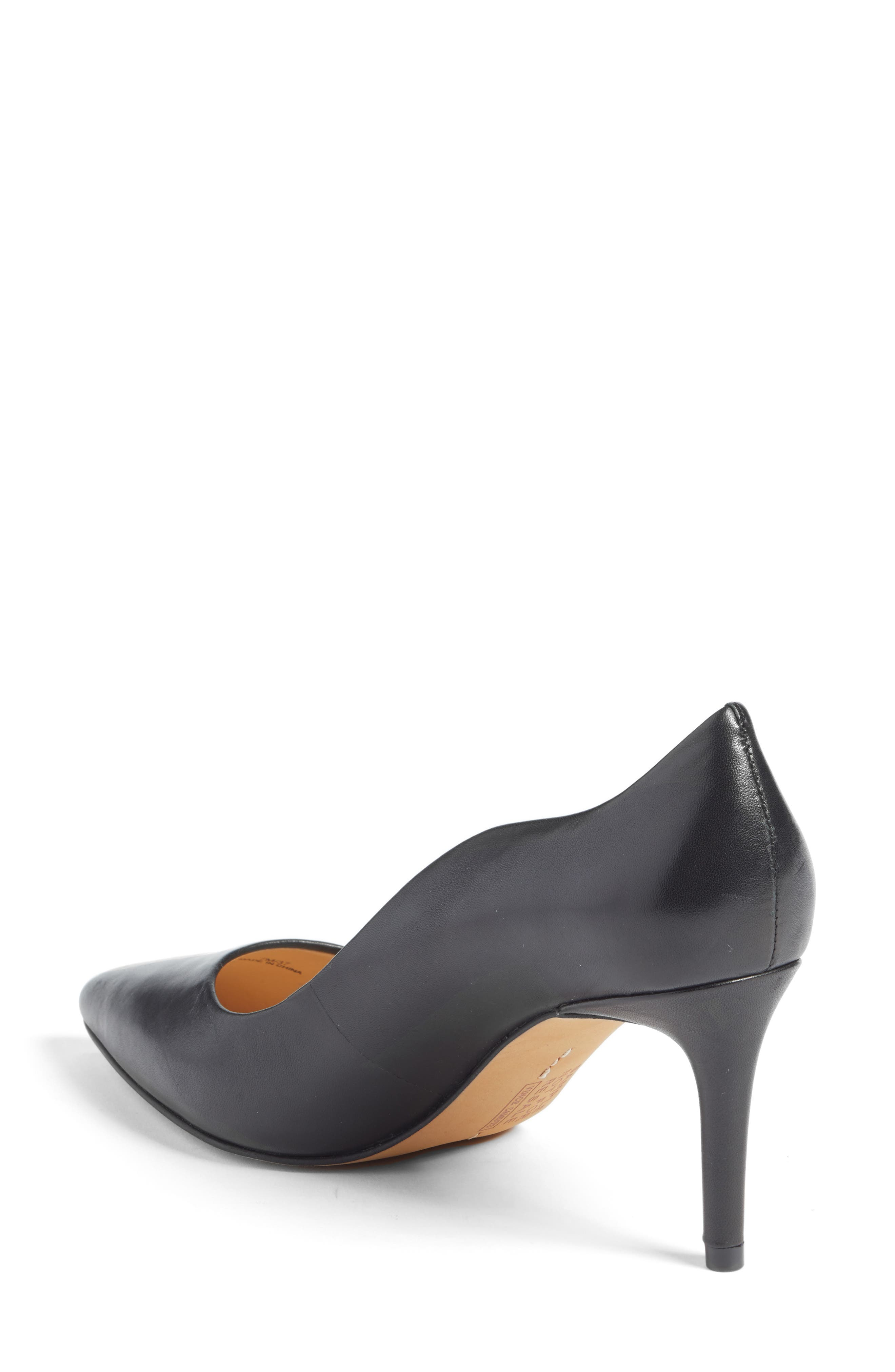 Jaynita Pointy Toe Pump,                             Alternate thumbnail 2, color,                             001