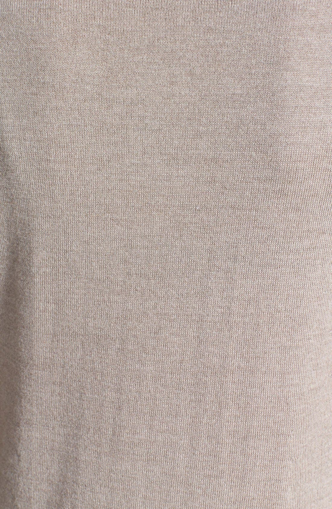 Lightweight Merino Jersey V-Neck Tunic,                             Alternate thumbnail 39, color,