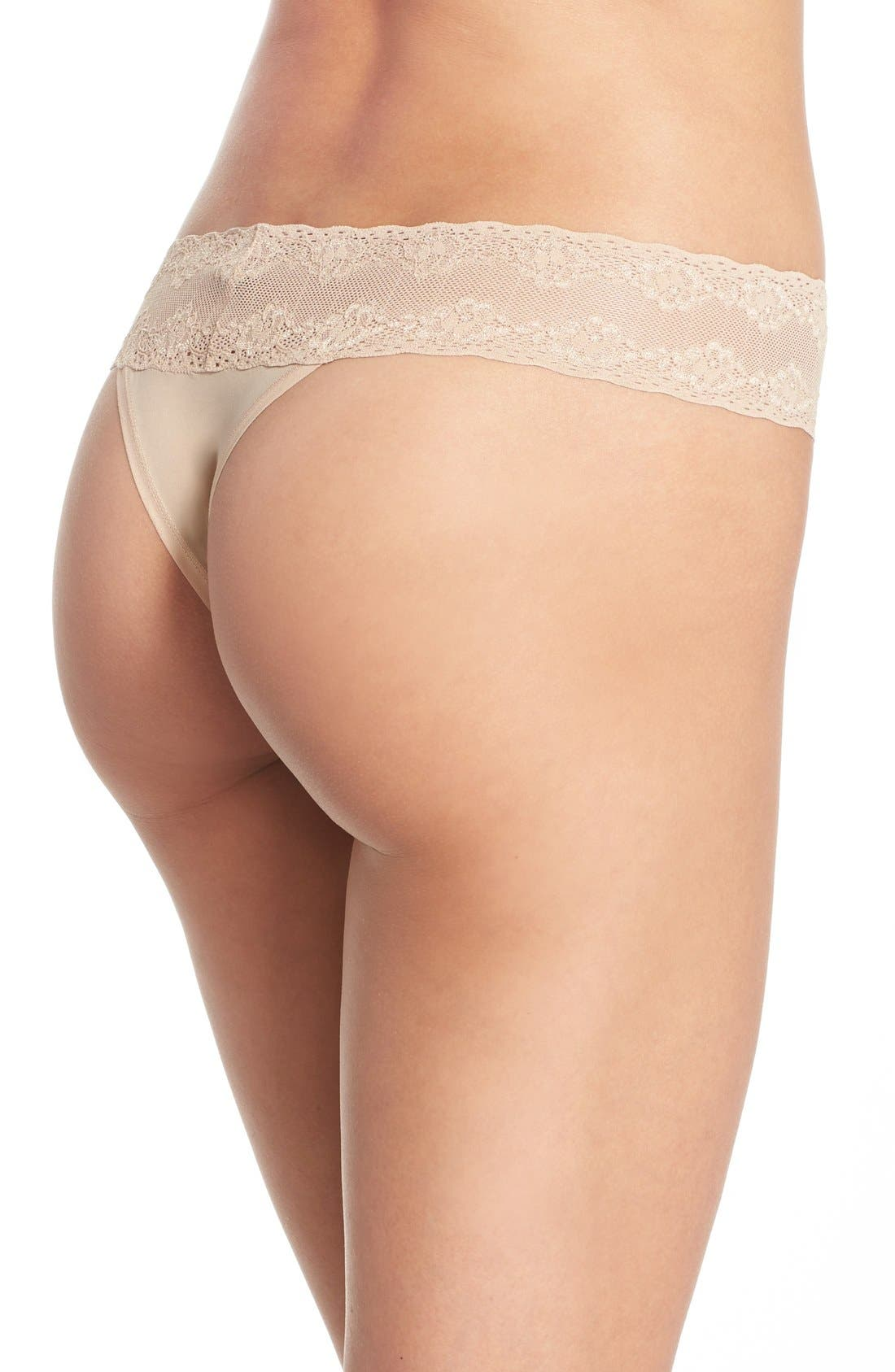 Bliss Perfection Thong,                             Alternate thumbnail 254, color,