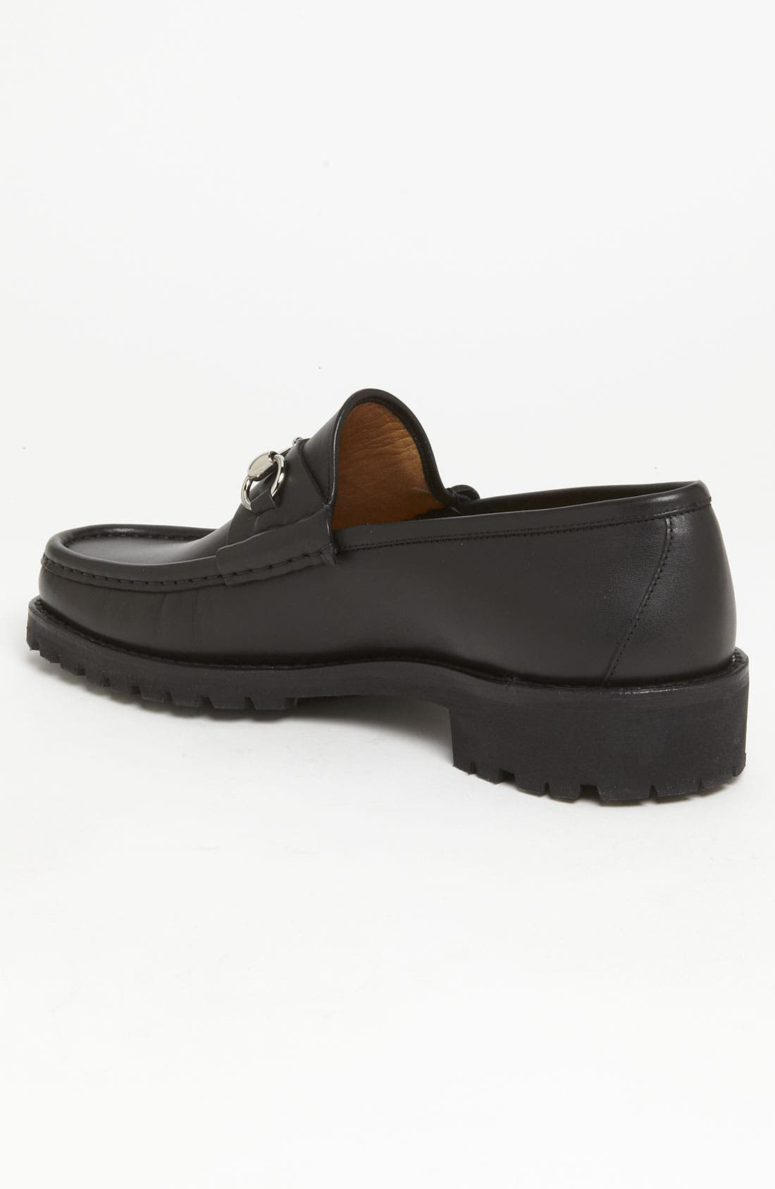 Classic Lug Sole Moccasin,                             Alternate thumbnail 9, color,                             1000 BLACK