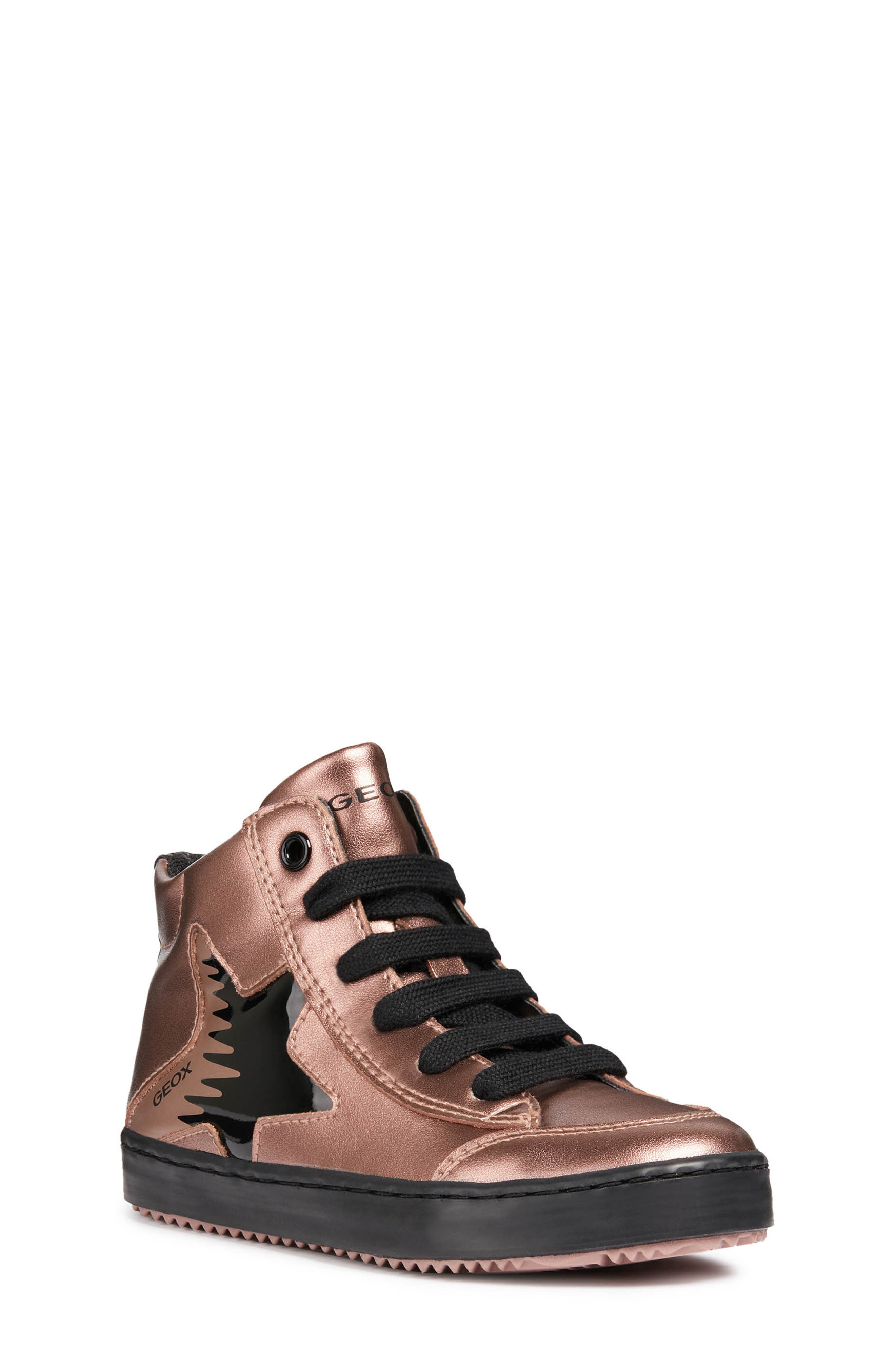 Kalispera Metallic High Top Sneaker,                         Main,                         color, ROSE SMOKE