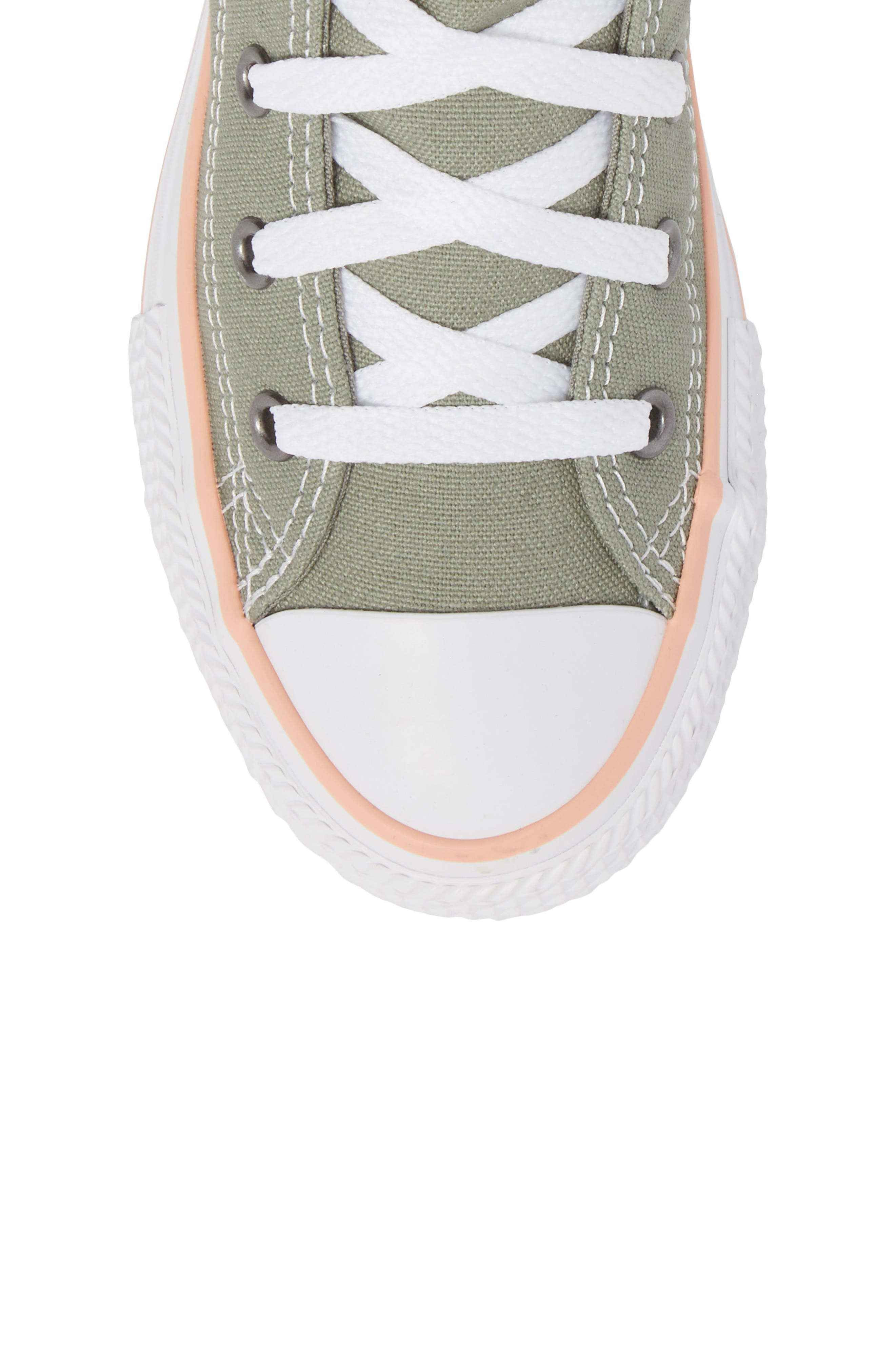 Chuck Taylor<sup>®</sup> All Star<sup>®</sup> High Top Sneaker,                             Alternate thumbnail 5, color,                             020