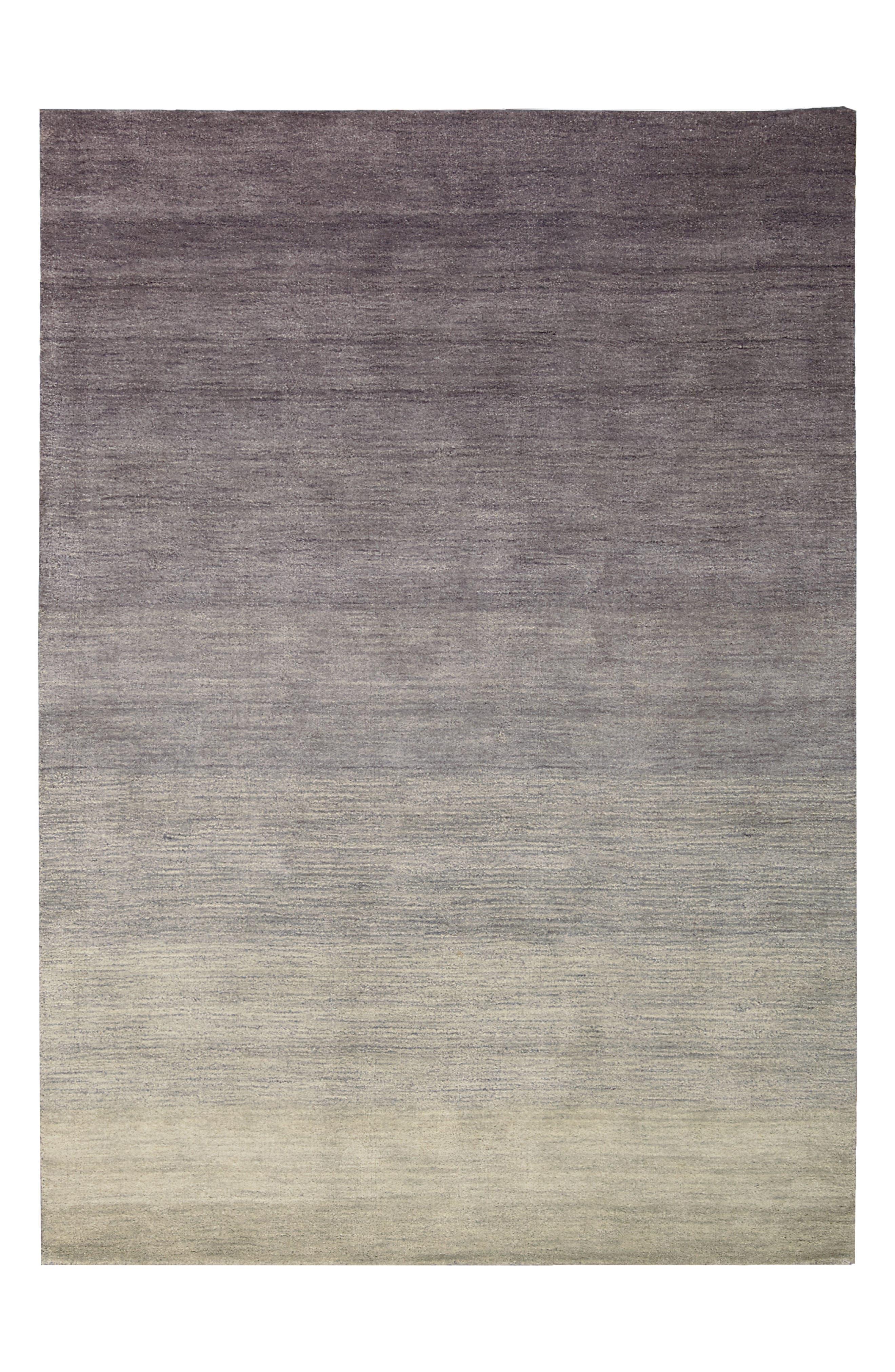 Haze Smoke Wool Area Rug,                             Alternate thumbnail 4, color,                             030