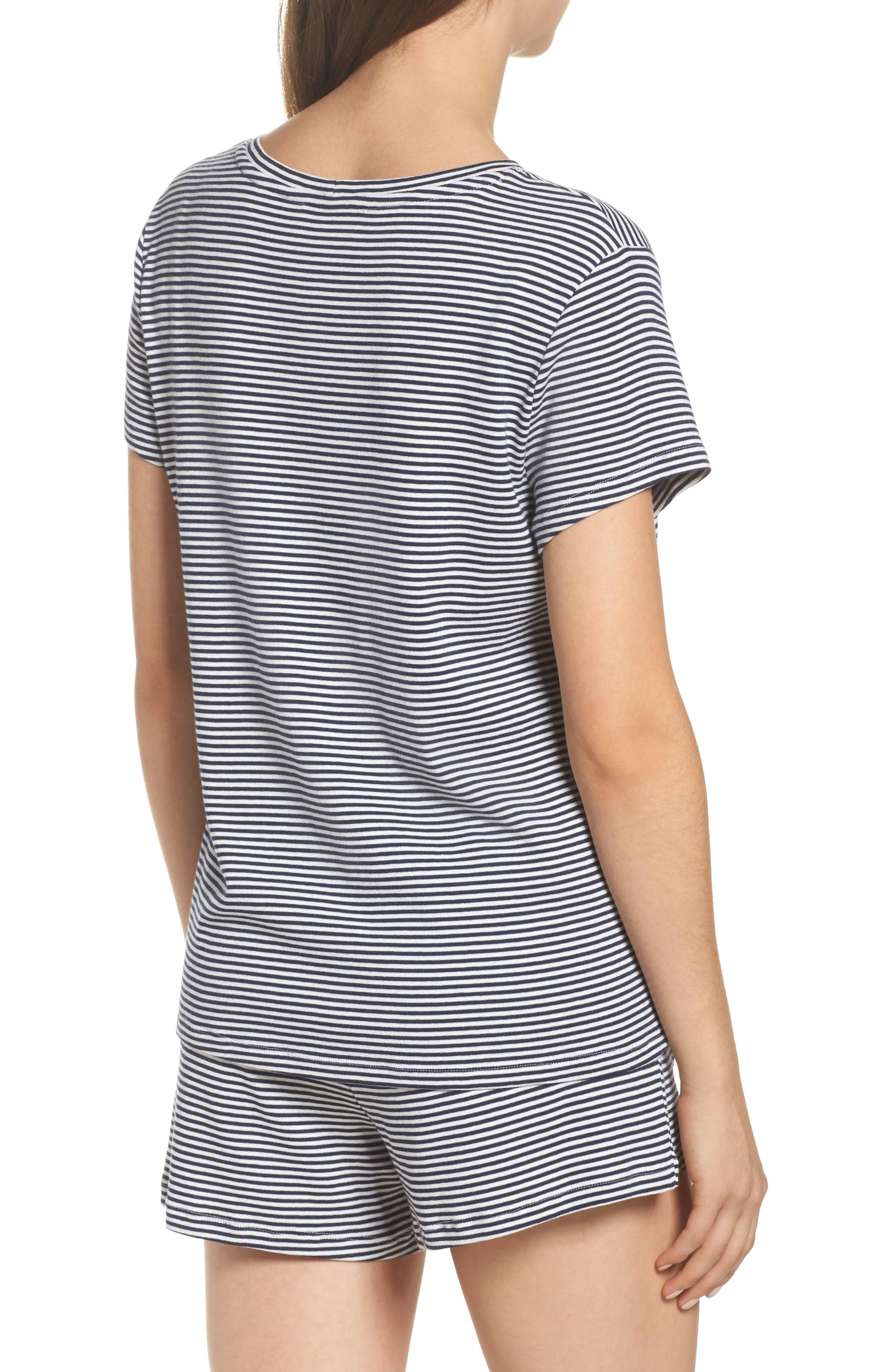 Jersey Short Pajamas,                             Alternate thumbnail 2, color,