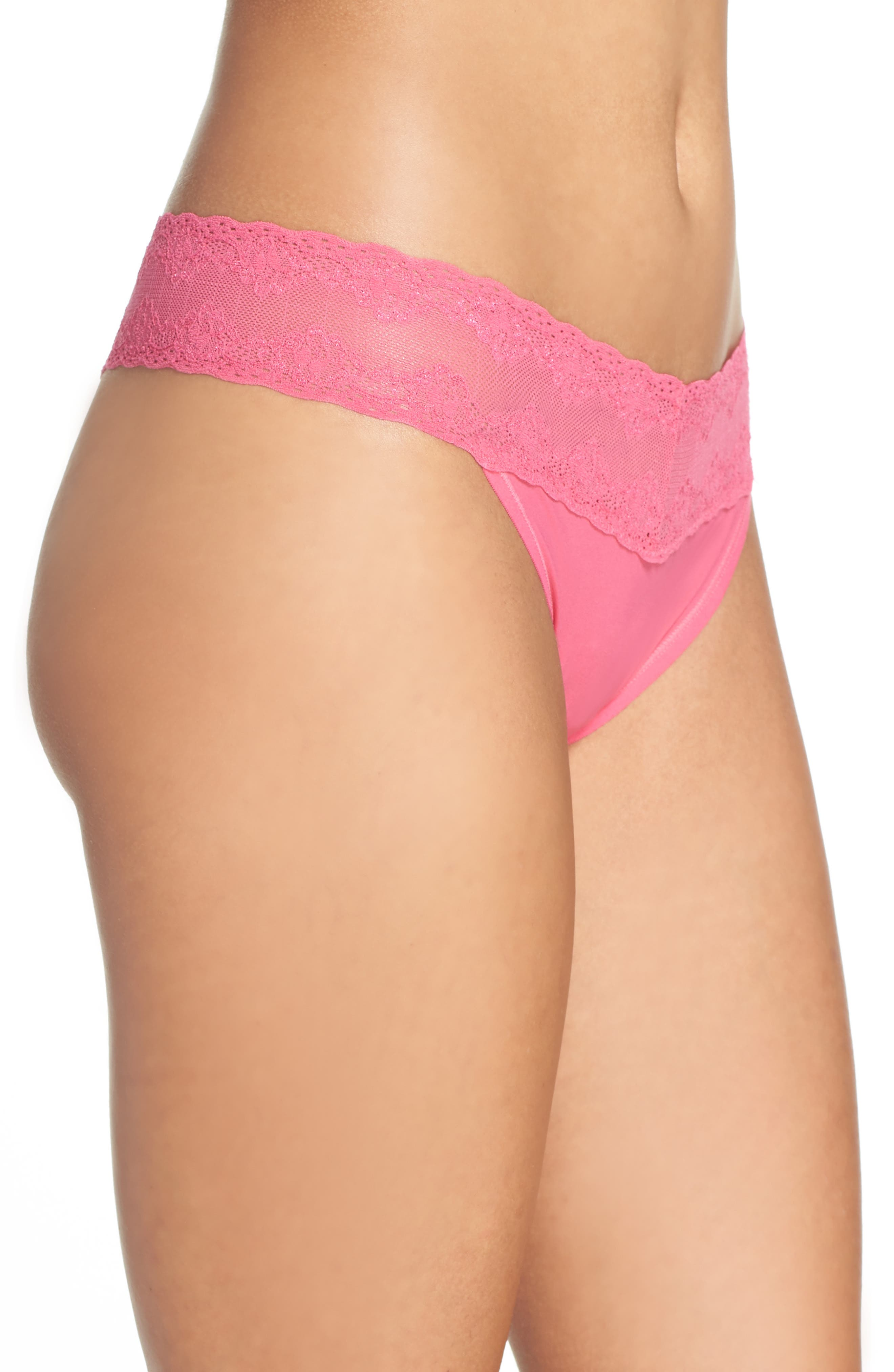 Bliss Perfection Thong,                             Alternate thumbnail 287, color,