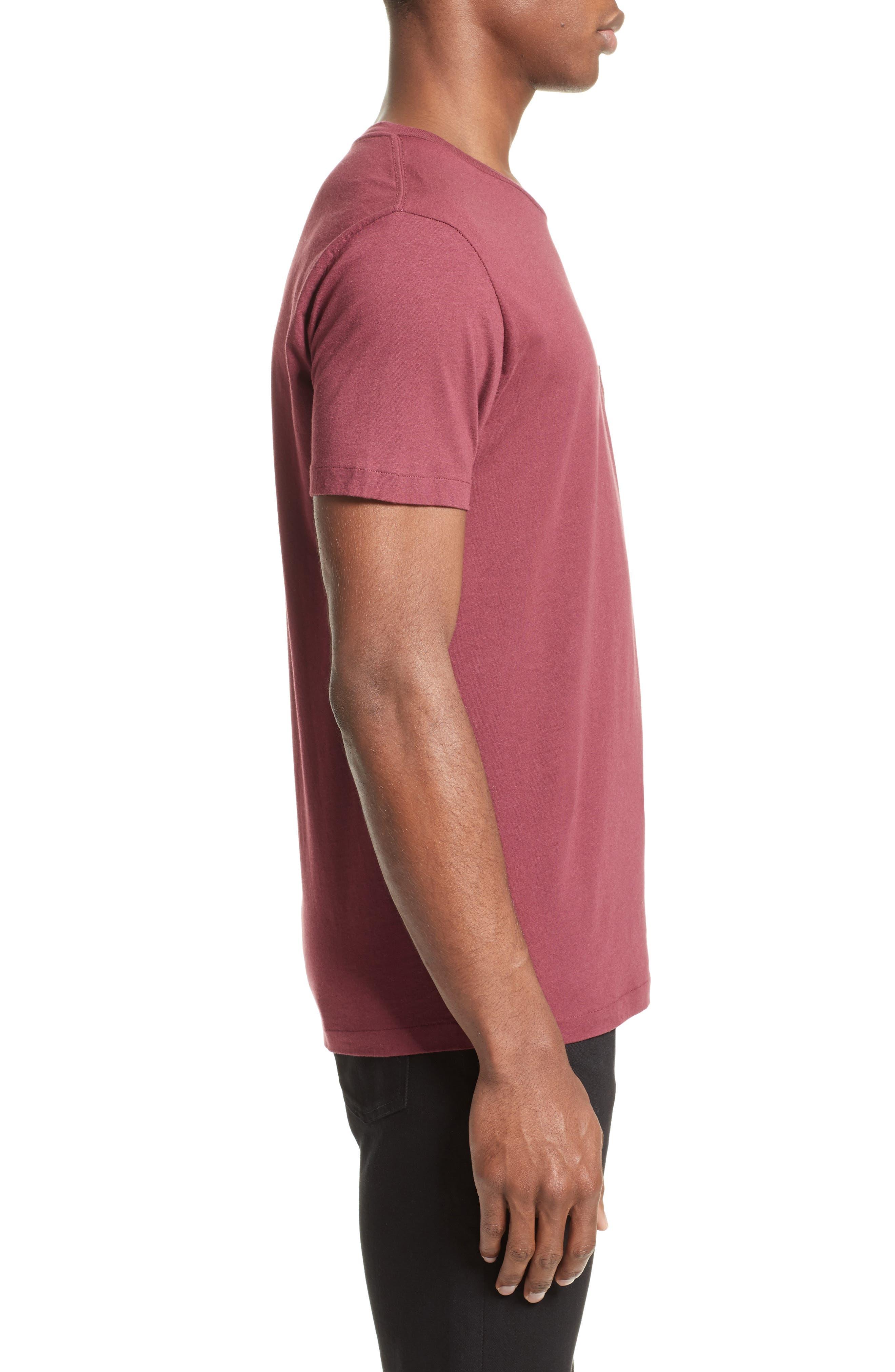 Pocket T-Shirt,                             Alternate thumbnail 3, color,                             600