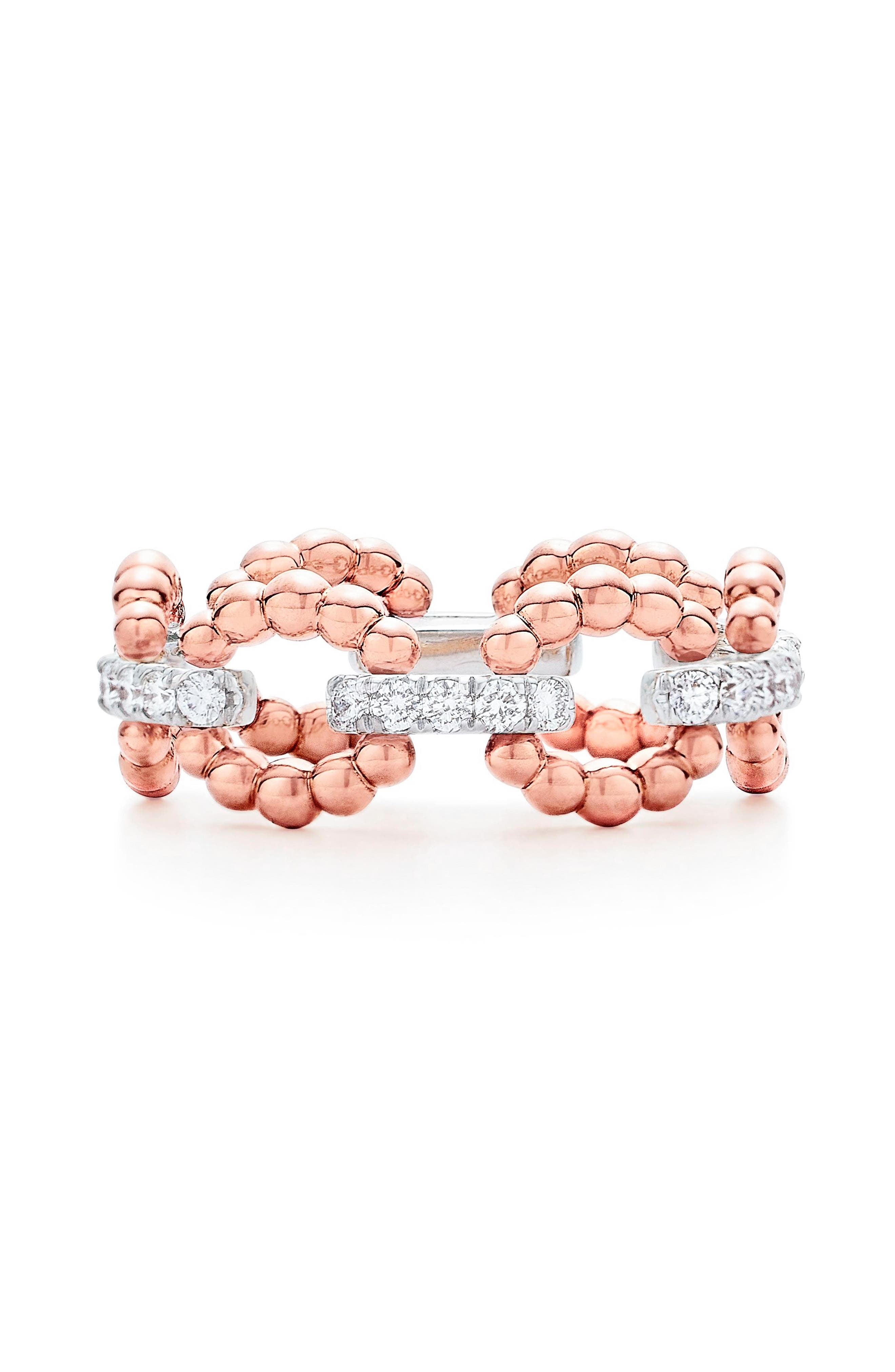 Diamond Ring,                         Main,                         color, ROSE GOLD
